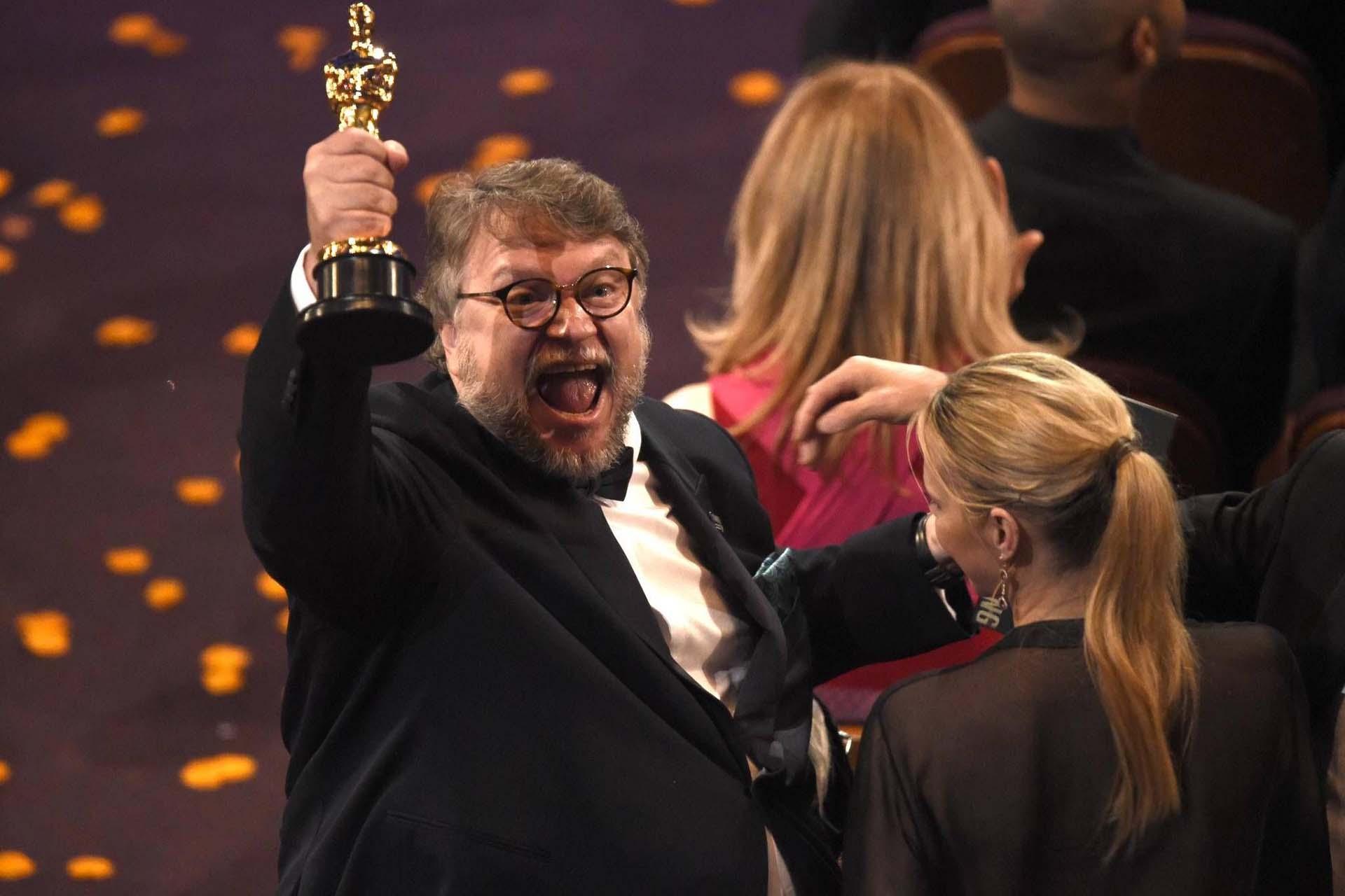 """Guillermo del Toro gana el Oscar a mejor director de cine por la película """"La forma del agua"""" el 4 de marzo"""