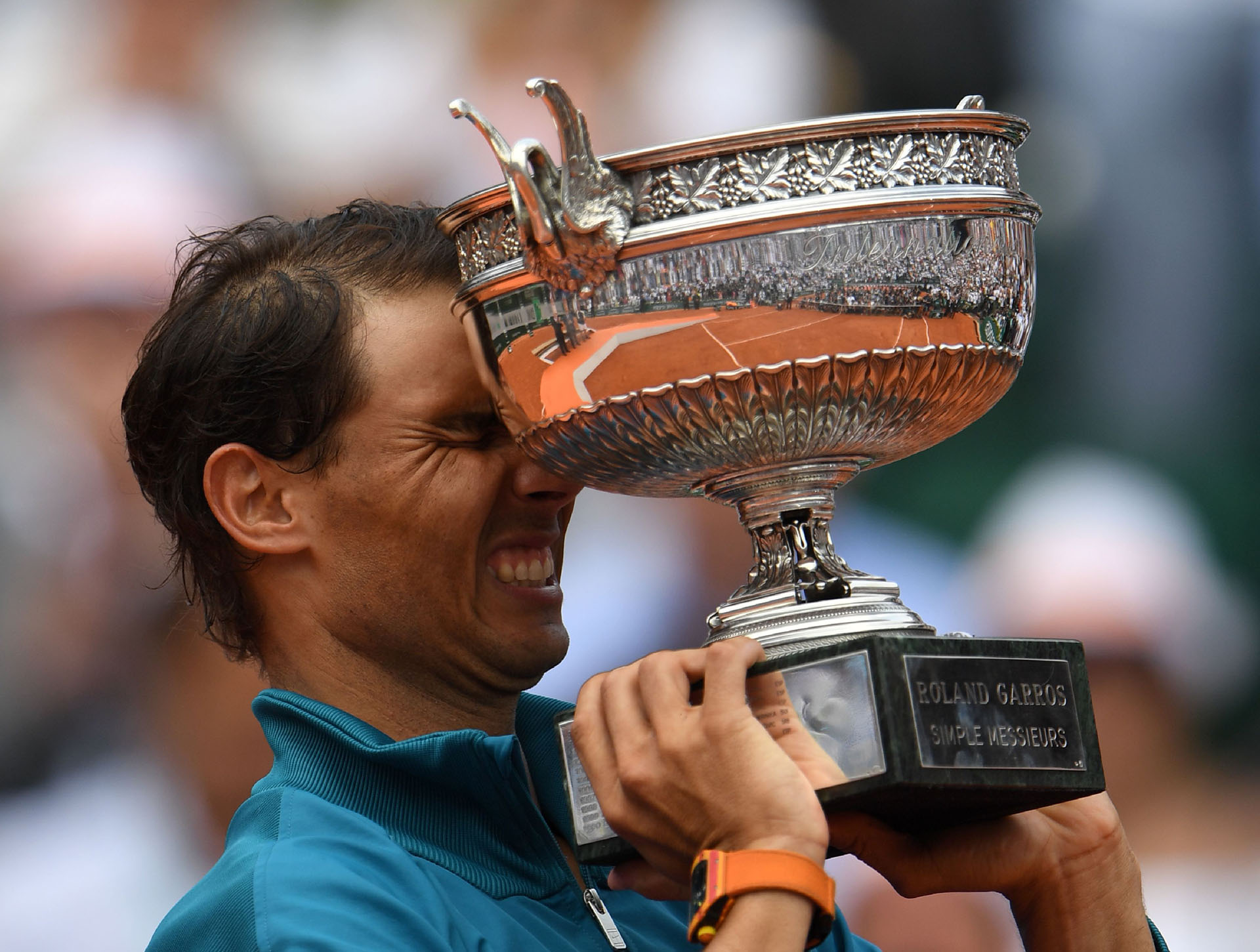 El tenista español Rafael Nadal gana su undécimo Roland Garros al derrotar al austríaco Dominic Thiem el 10 de junio