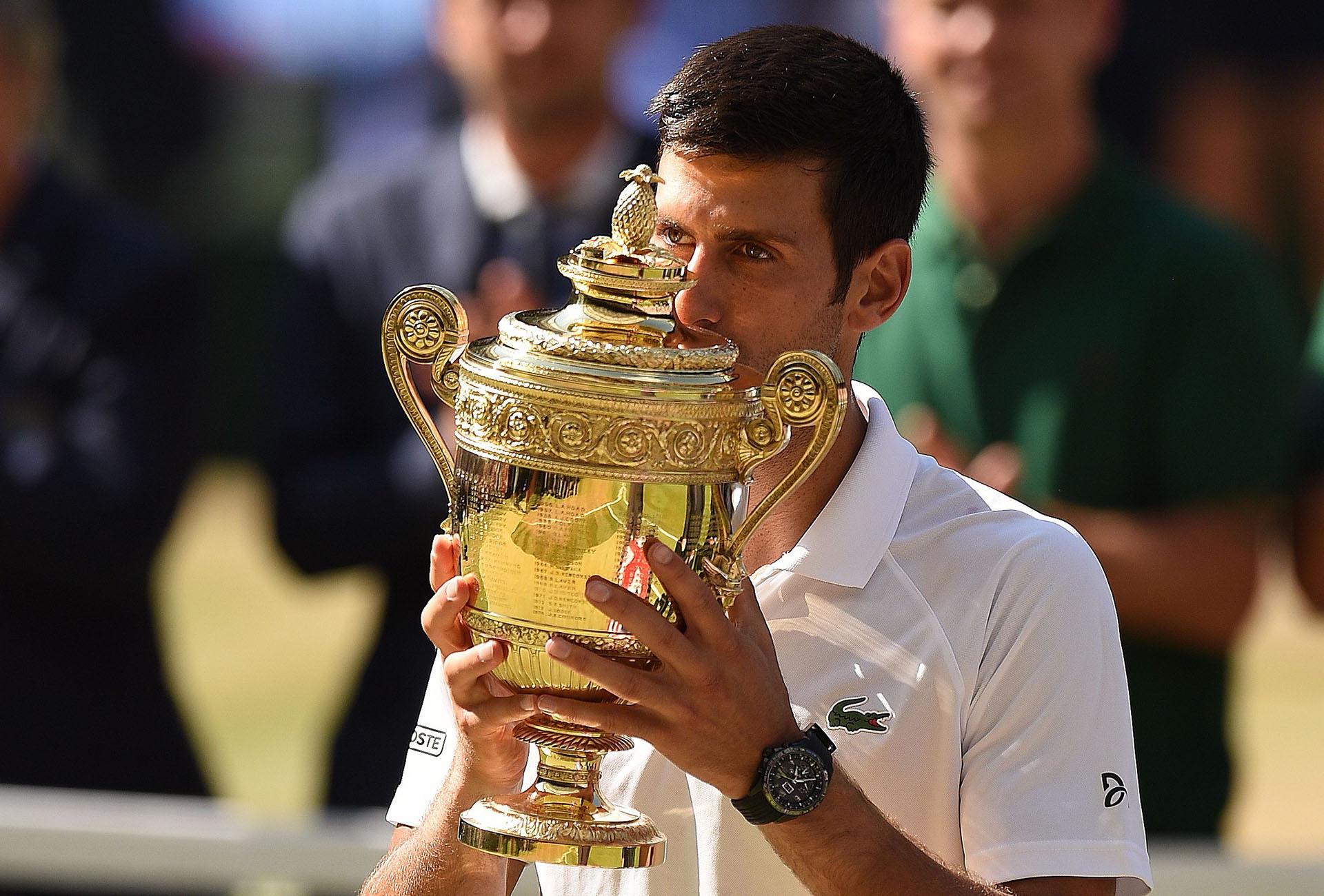 El tenista serbio Novak Djokovic superó al sudafricano Kevin Anderson y se consagró campeón de Wimbledon por cuarta vez el 15 de julio