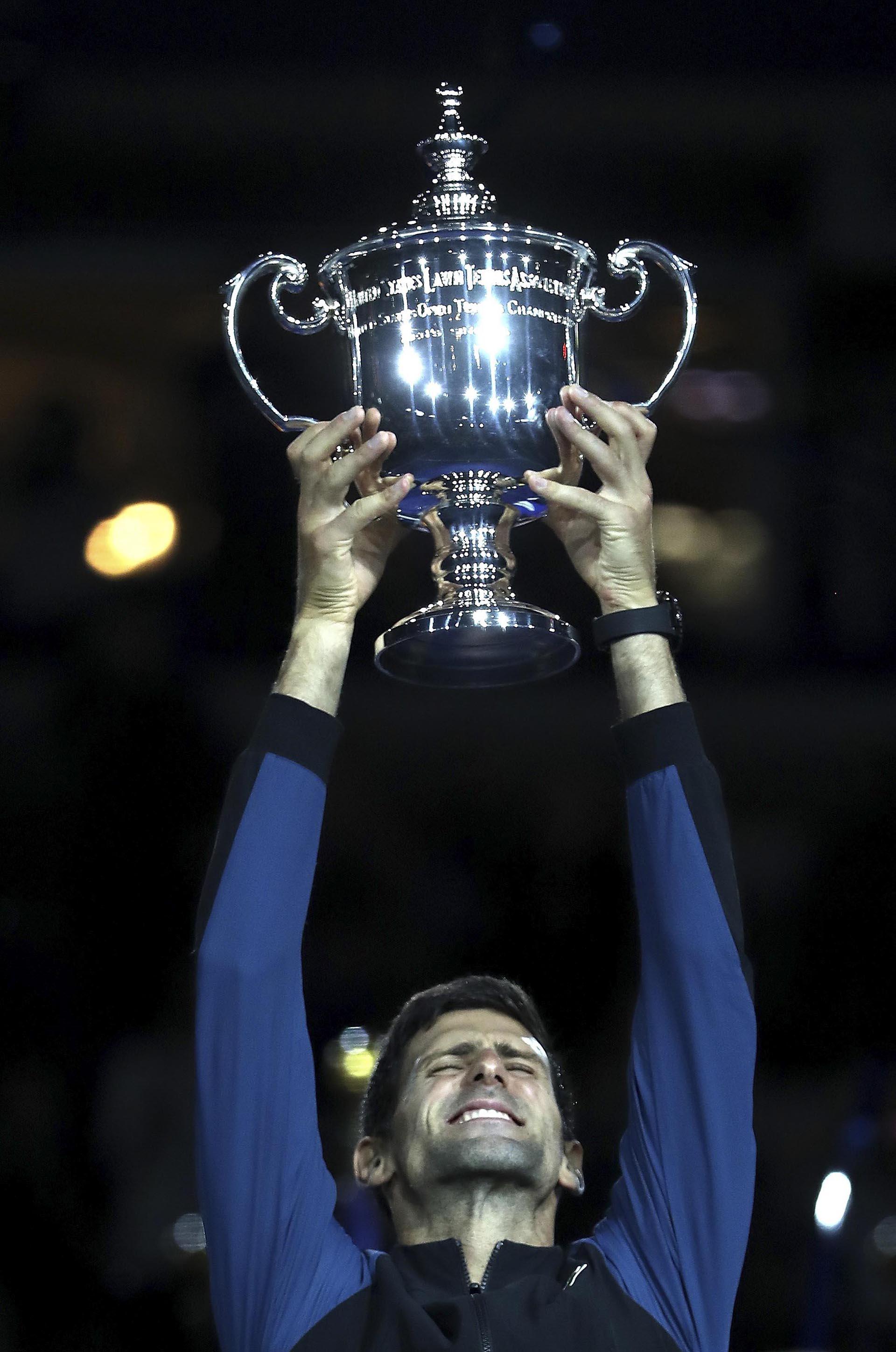 El tenista serbio Novak Djokovic venció al argentino Juan Martín del Potro y ganó su tercer US Open el 9 de septiembre