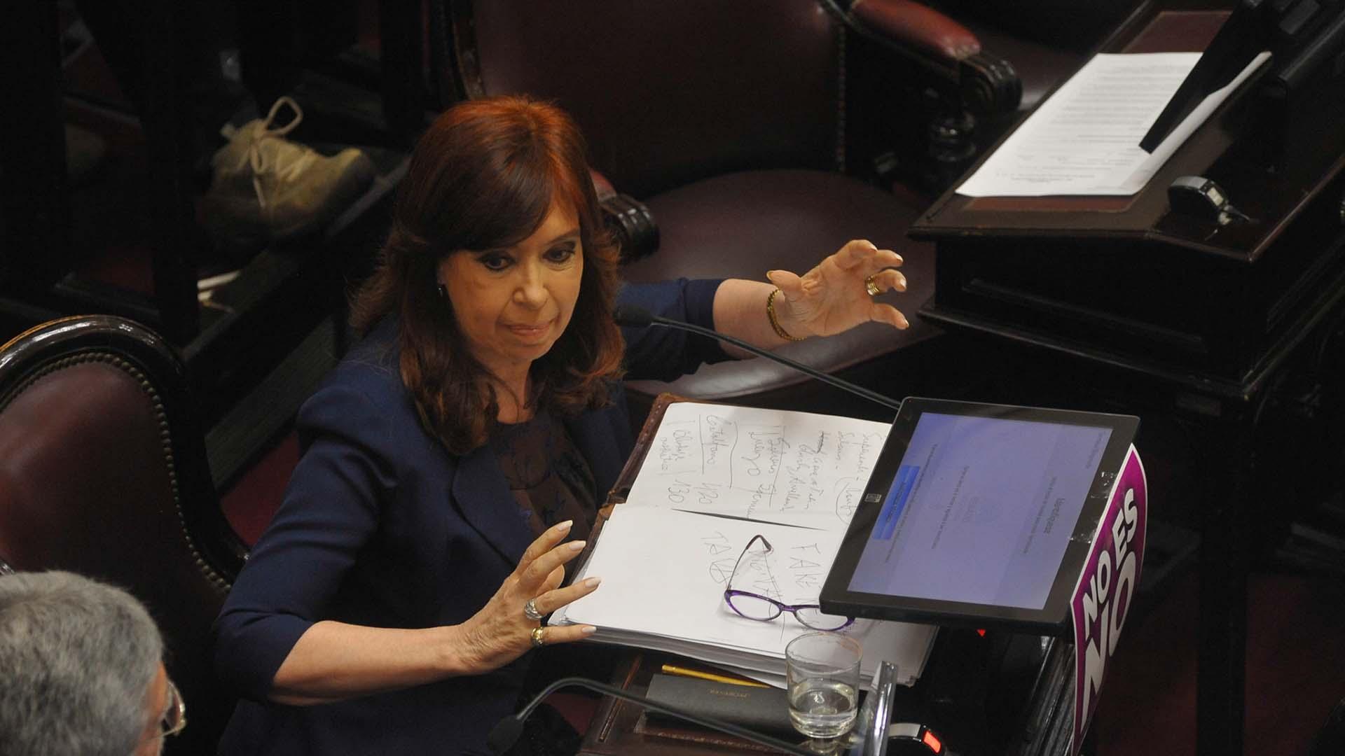 La ex presidenta Cristina Kirchner despidió en las redes sociales al ex Procurador (Patricio Murphy)
