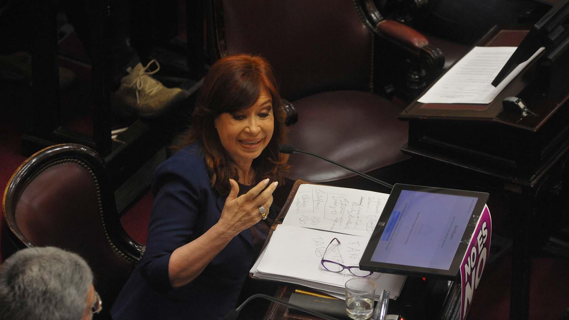 Cristina Kirchner (Patricio Murphy)