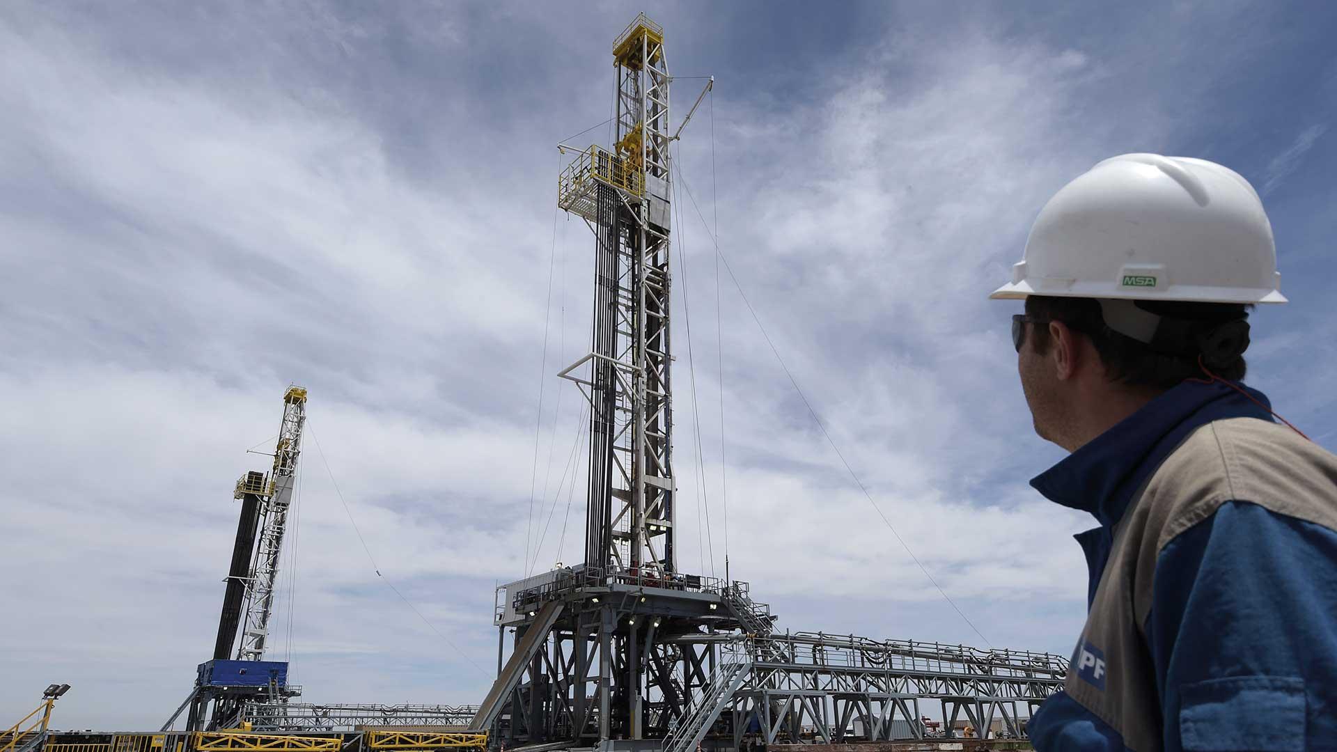 La promesa del reservorio no convencional de hidrocarburos de Vaca Muerta. Foto: AFP.