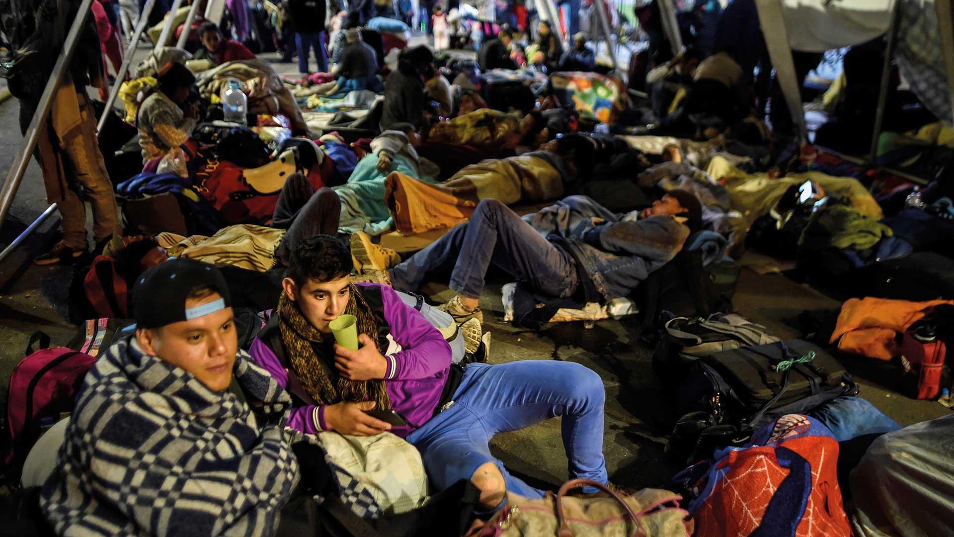 La dimensión humanitaria, el lado más acuciante de la crisis venezolana. Foto: AFP.