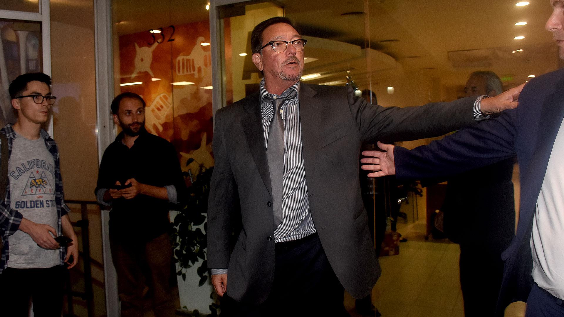 El senador de Entre Ríos Pedro Guastavino