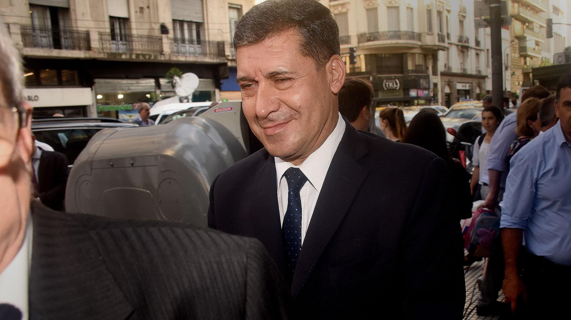 El gobernador de La Rioja, Sergio Casas