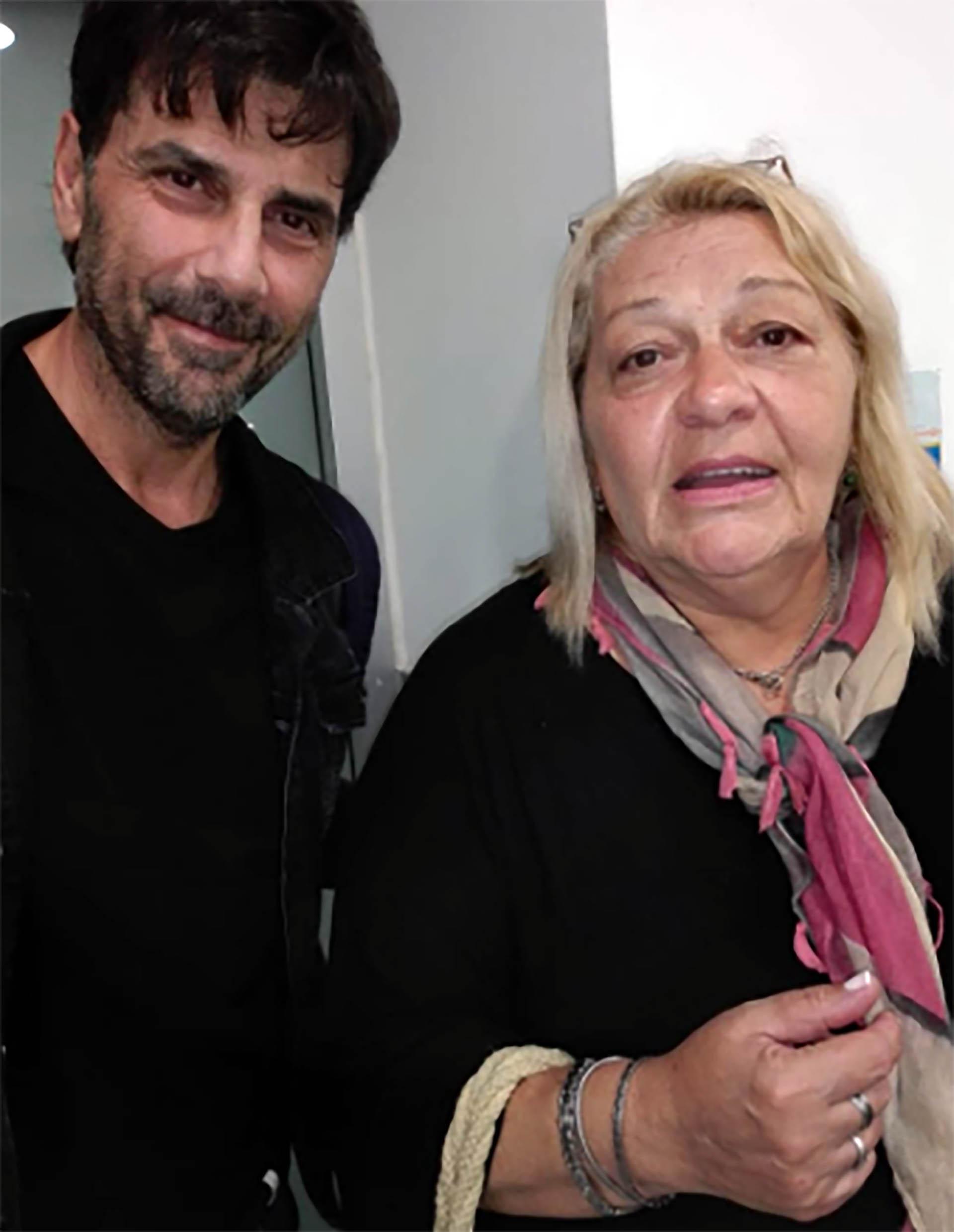 El actor se sacó una foto con una seguidora