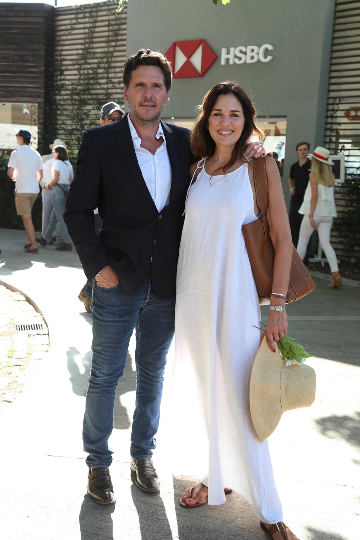 Andrea Frigerio y su marido, Lucas Bocchino