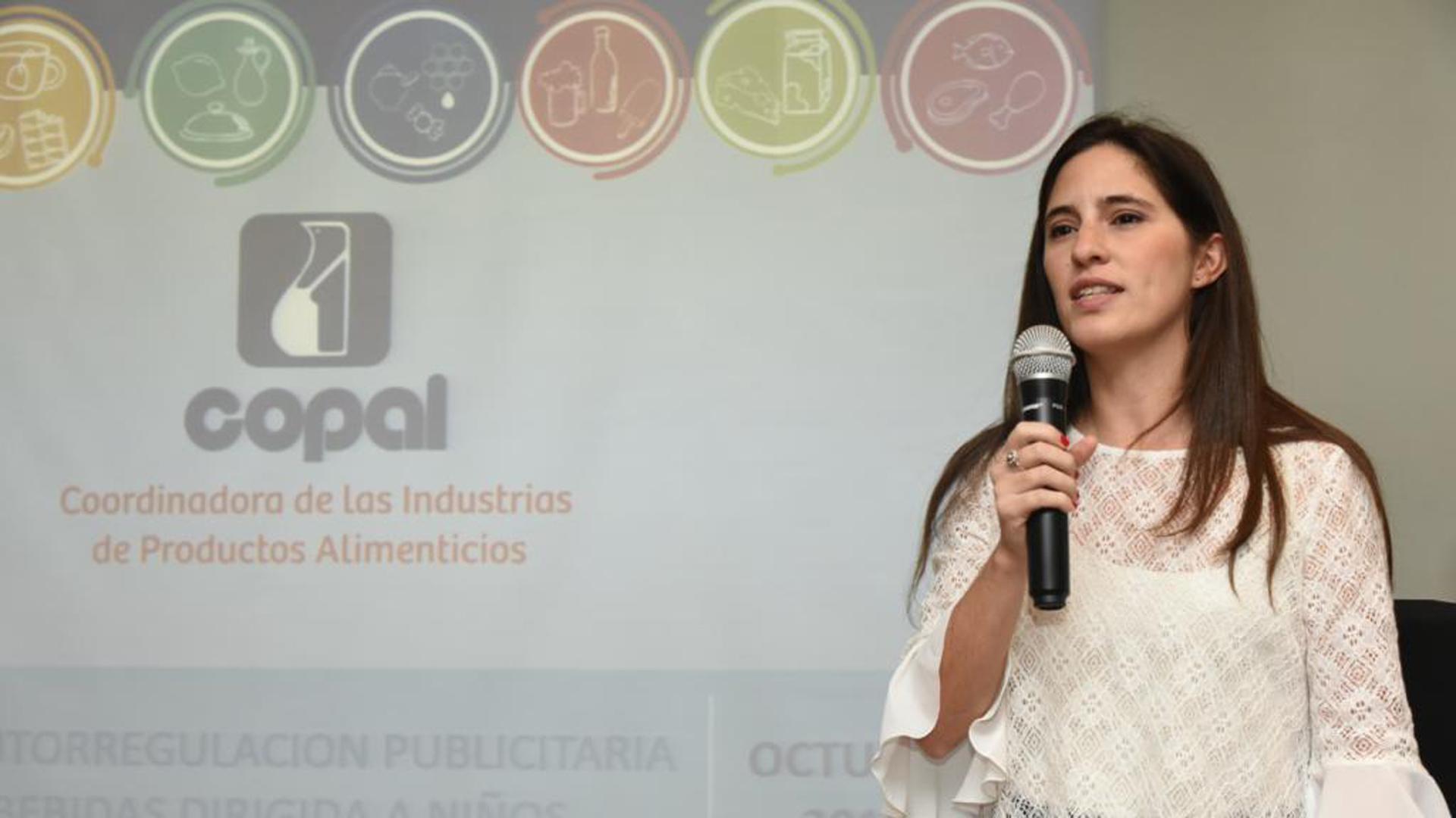 Carla Martin Bonito, directora ejecutiva de COPAL, explicó la importancia del compromiso empresarial