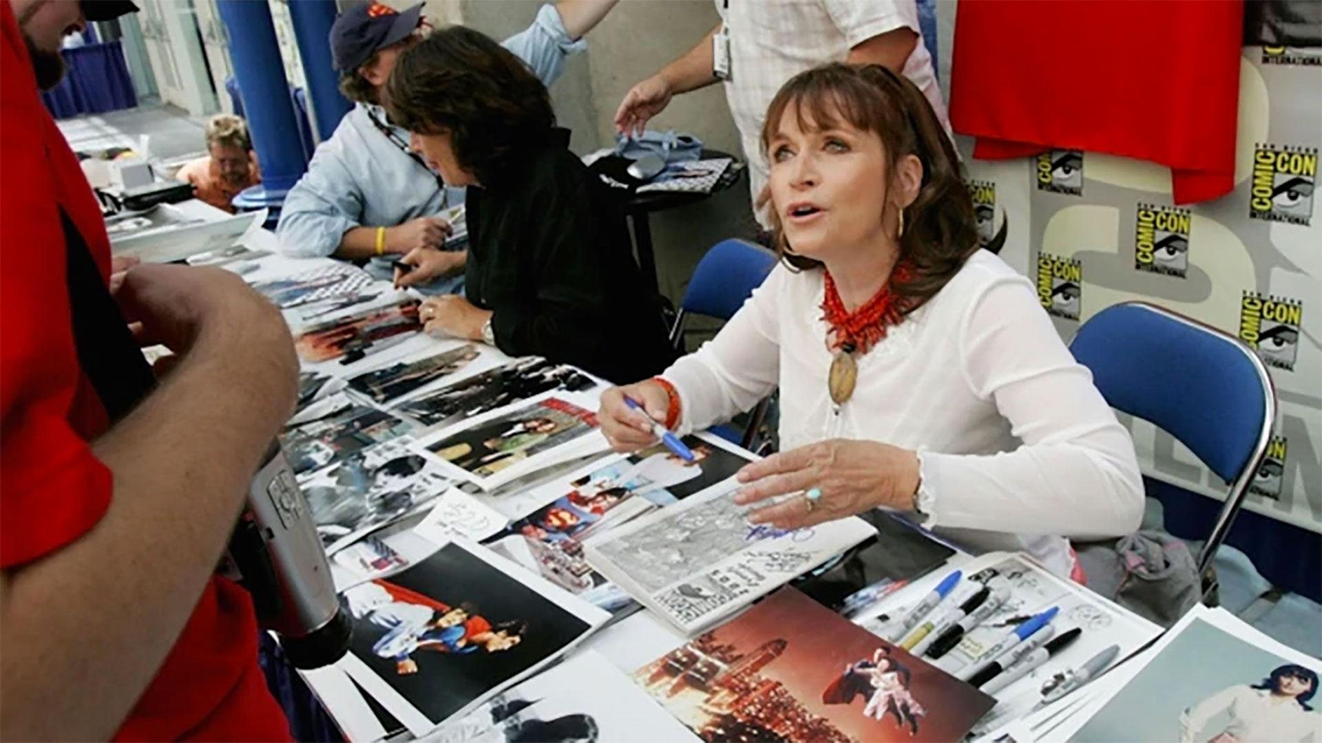 La actriz canadiense que personificó a Luisa Lane en Superman falleció en su casa después de batallar contra un desorden bipolar. Luego confirmaron que fue un suicidio. Tenía 69 años. (Foto: AFP)