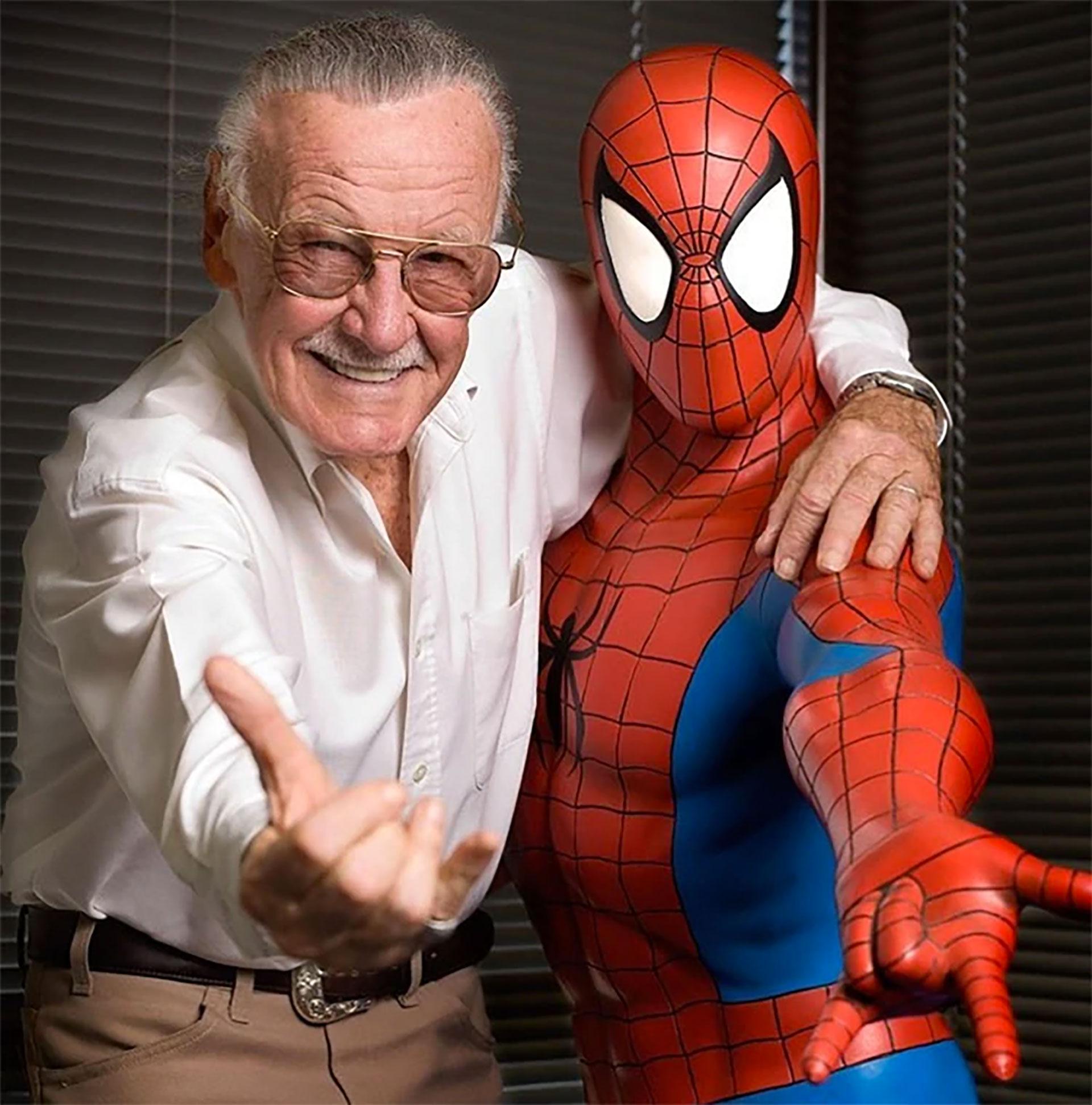 El escritor y editor falleció a los 95 años. Fue el creador de Spider Man, Hulk y Los 4 Fantásticos. (Foto: Instagram)
