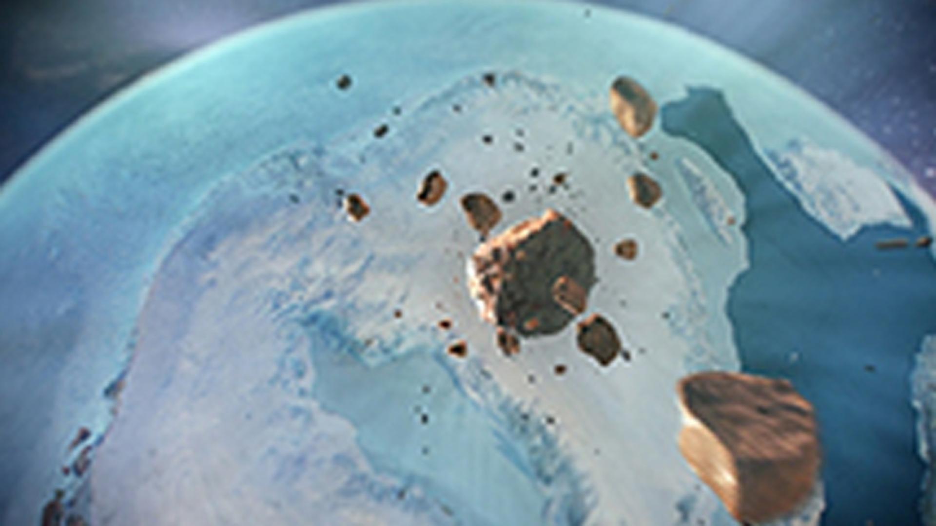 El gran meteorito Hiawatha que cayó en Groenlandia
