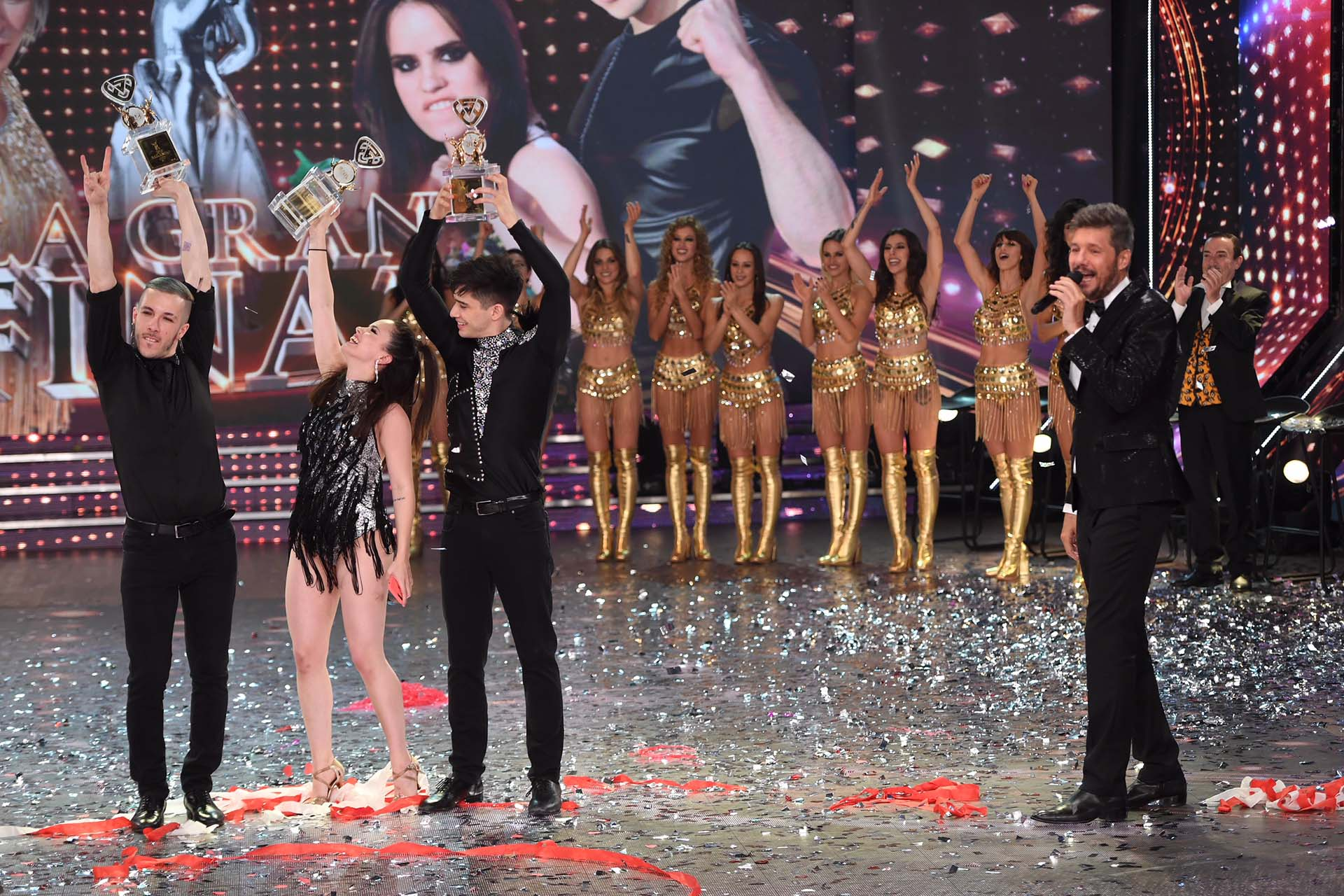 """Sofía Morandi y Julián Serrano, los campeones del """"Bailando 2018"""" (Foto: Laflia / Negro Luengo)"""
