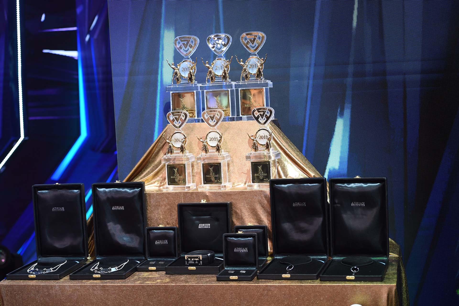 """Los premios del """"Bailando"""""""