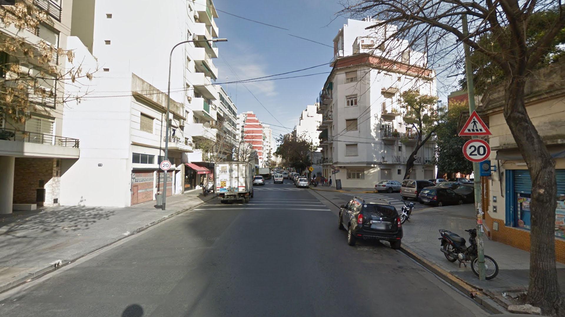Río de Janeiro al 500, el lugar del ataque.