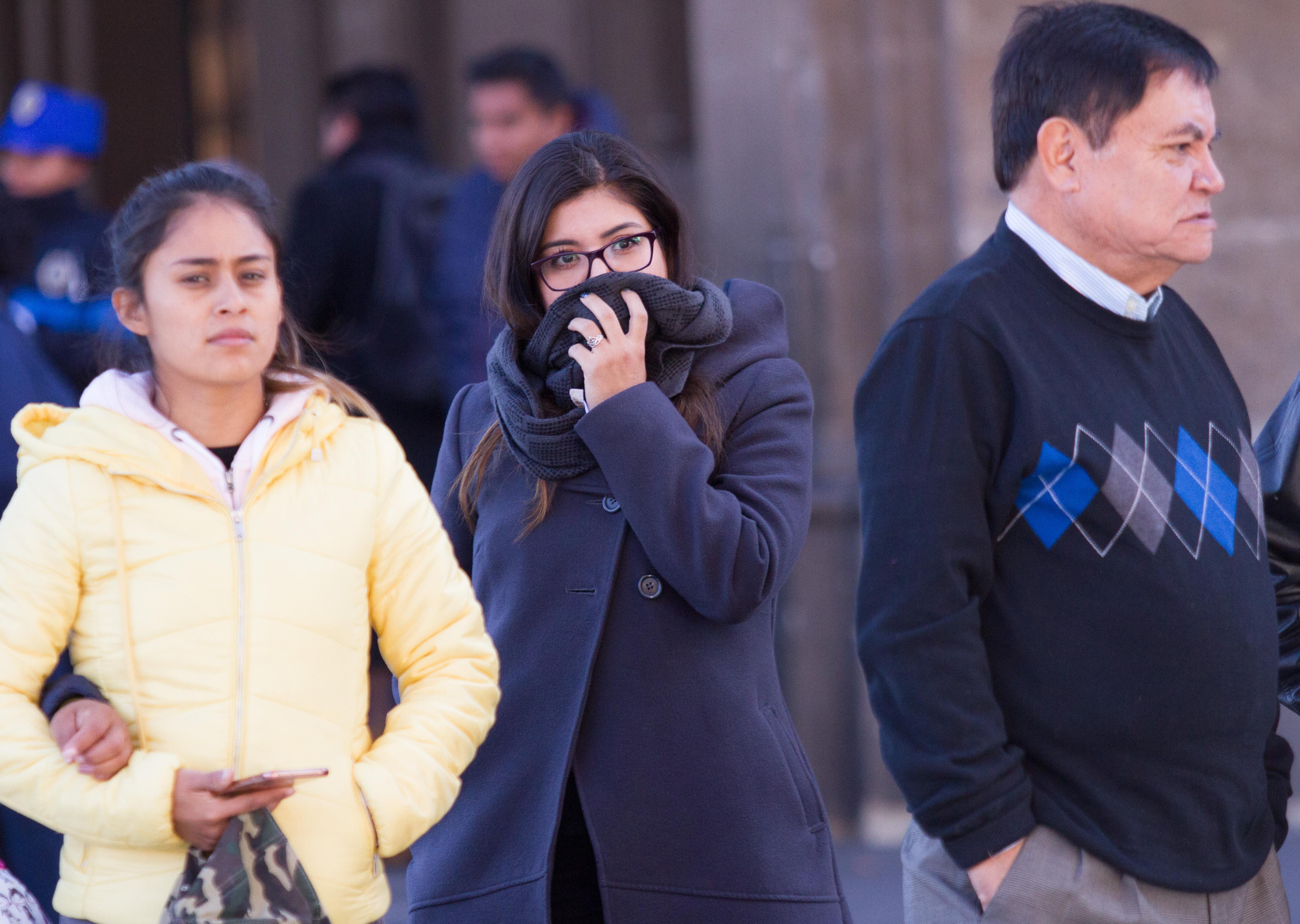 Se registran bajas temperaturas en México (Foto:Victoria Valtierra /CUARTOSCURO.COM)