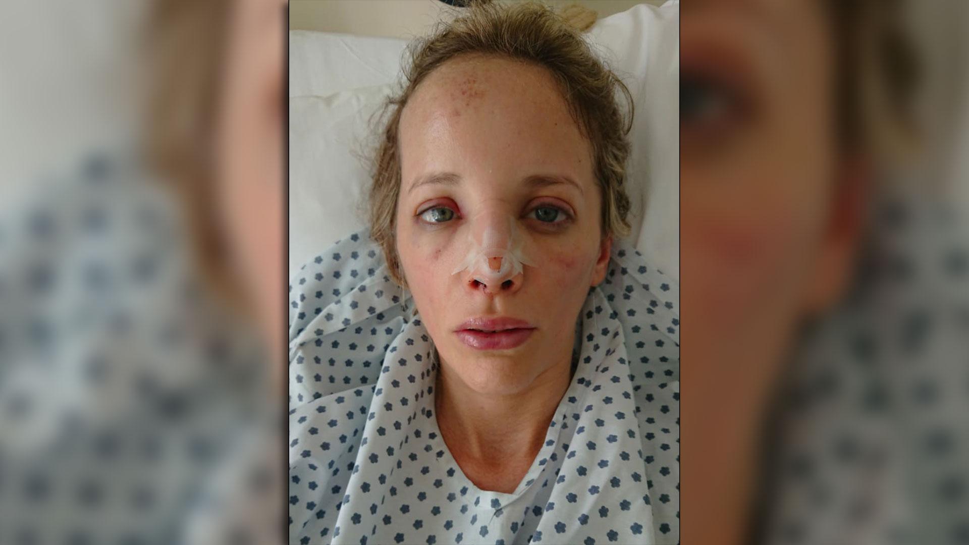 De Magistra fue internada durante todo un día en la clínica Zabala de Belgrano.