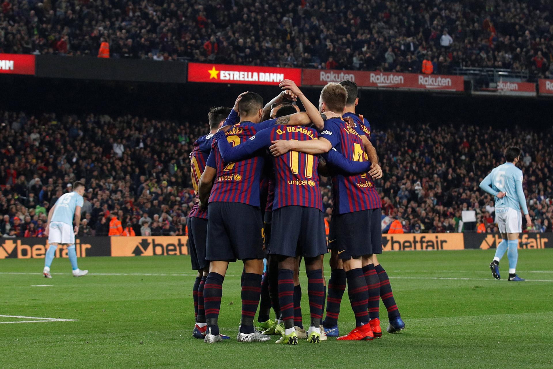 Barcelonaacumula cuatro triunfos al hilo