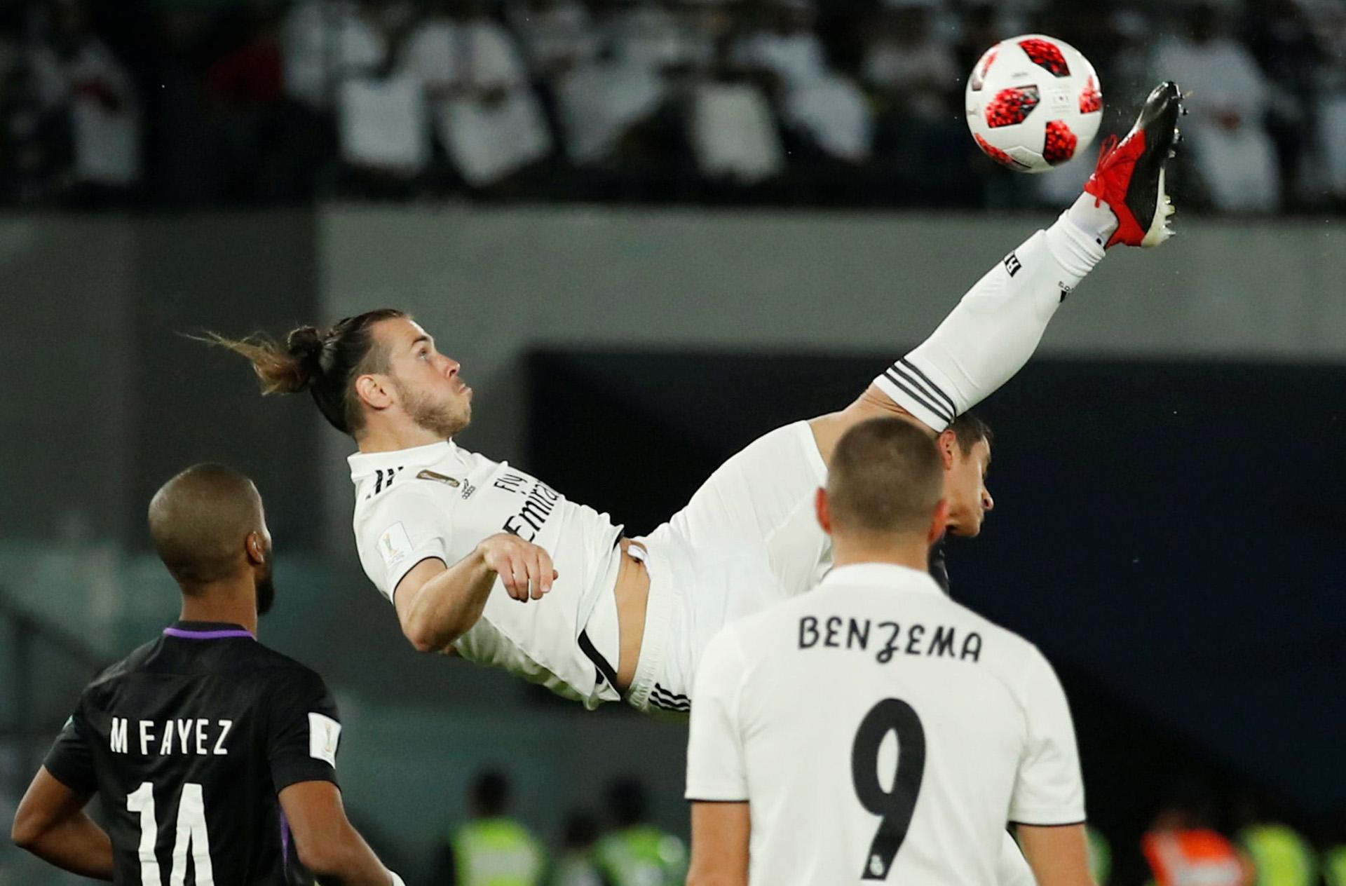 Gareth Bale fue nombrado como mejor jugador del Mundial de Clubes