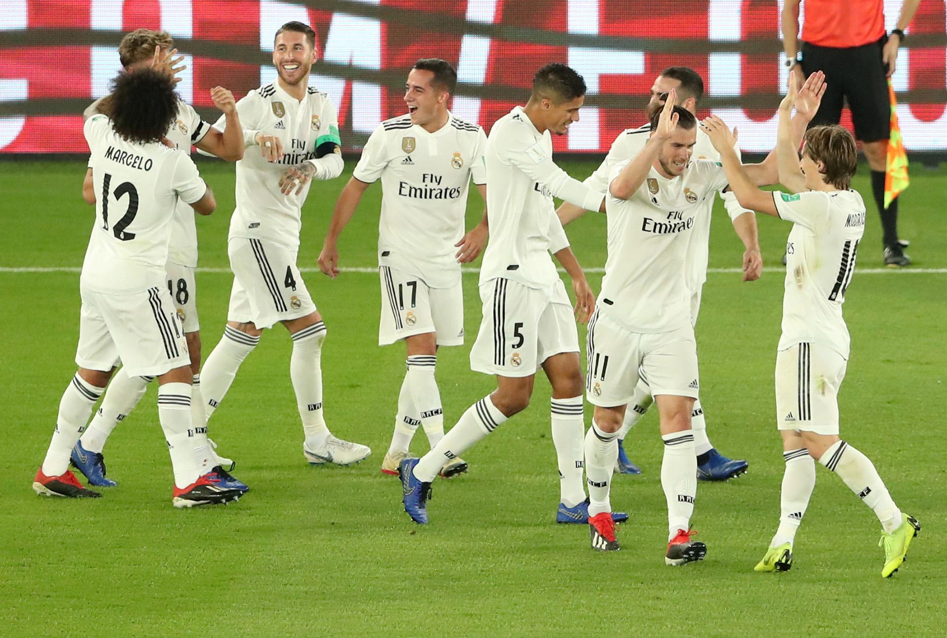 Real Madrid campeón del Mundial de Clubes 2018