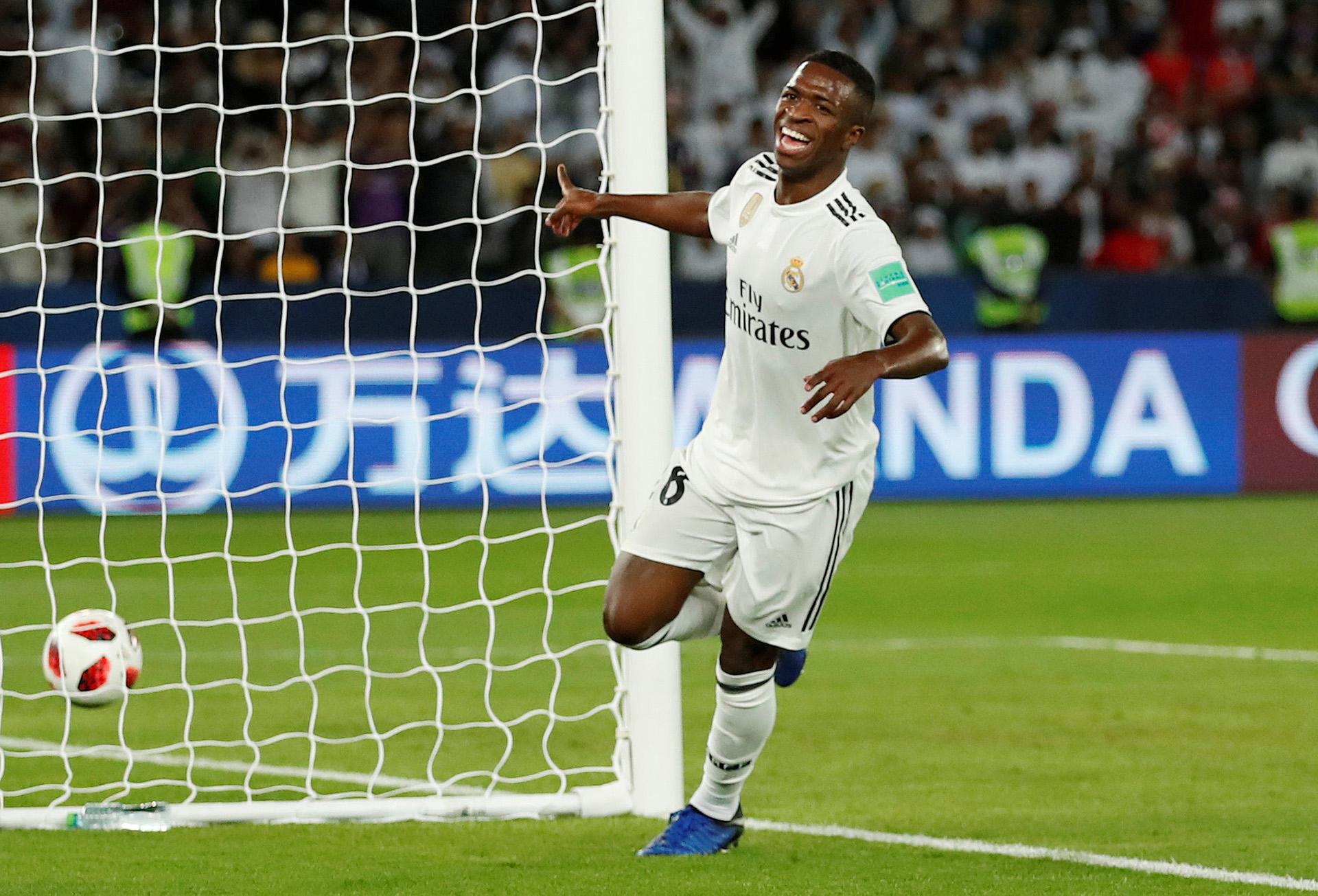 Vinicius tuvo tiempo para jugar en la final