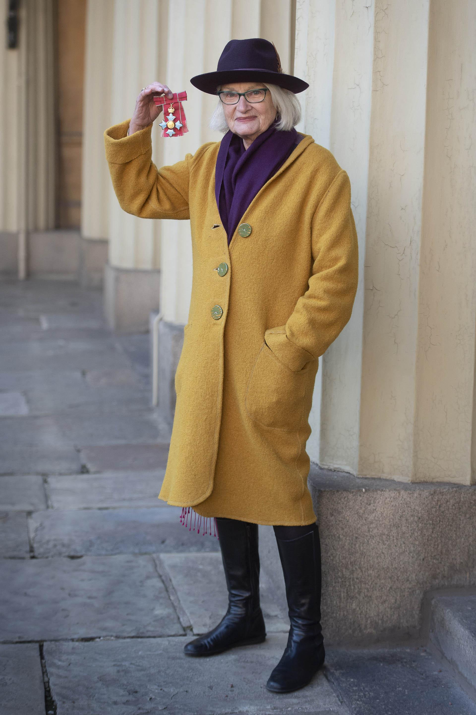 """La editora británica, Elisabeth """"Liz"""" Calder, cofundadora de Bloomsbury Publisher"""