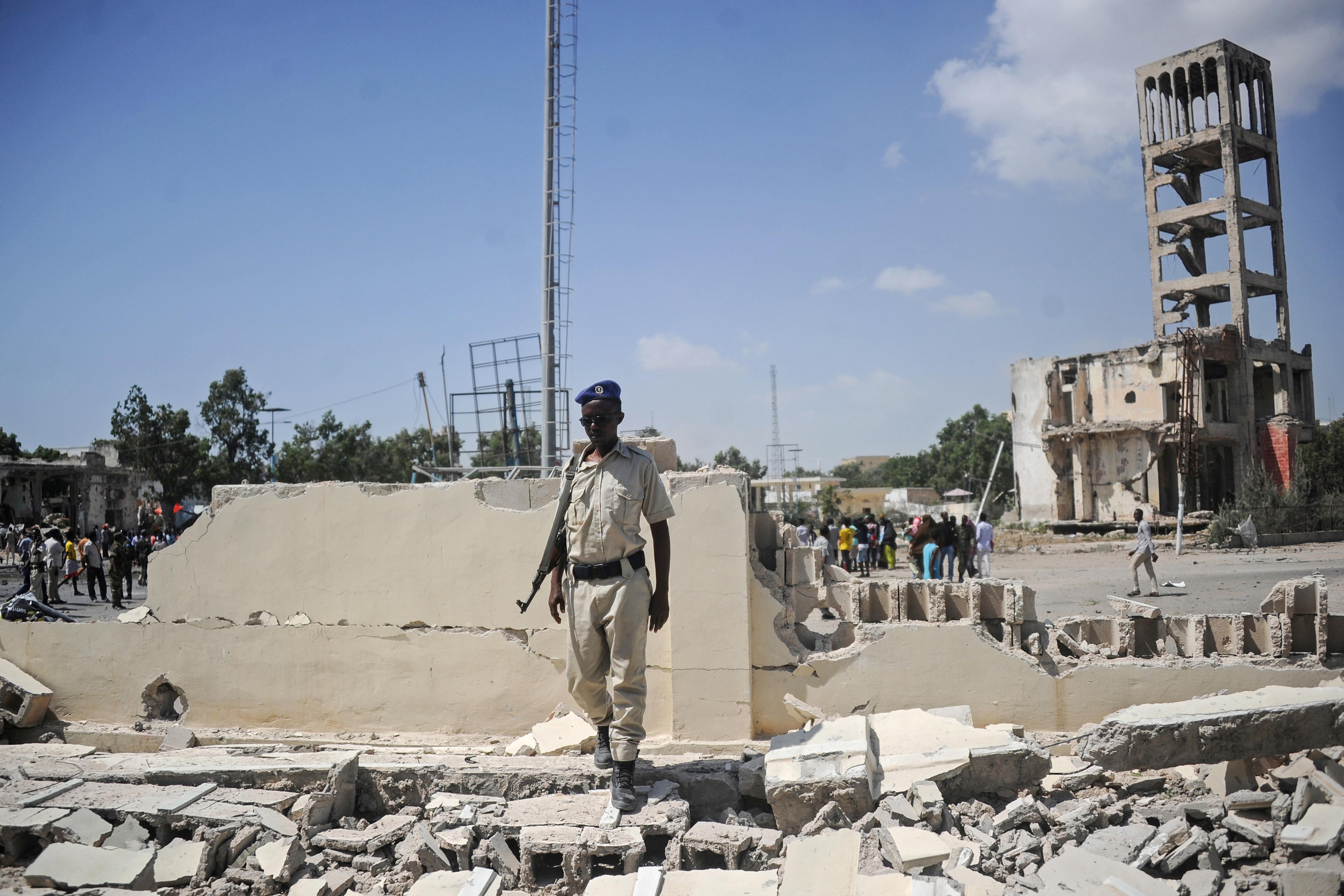El ataque fue reivindicado por el grupo terrorista Al Shabab(Foto: Mohamed ABDIWAHAB / AFP)