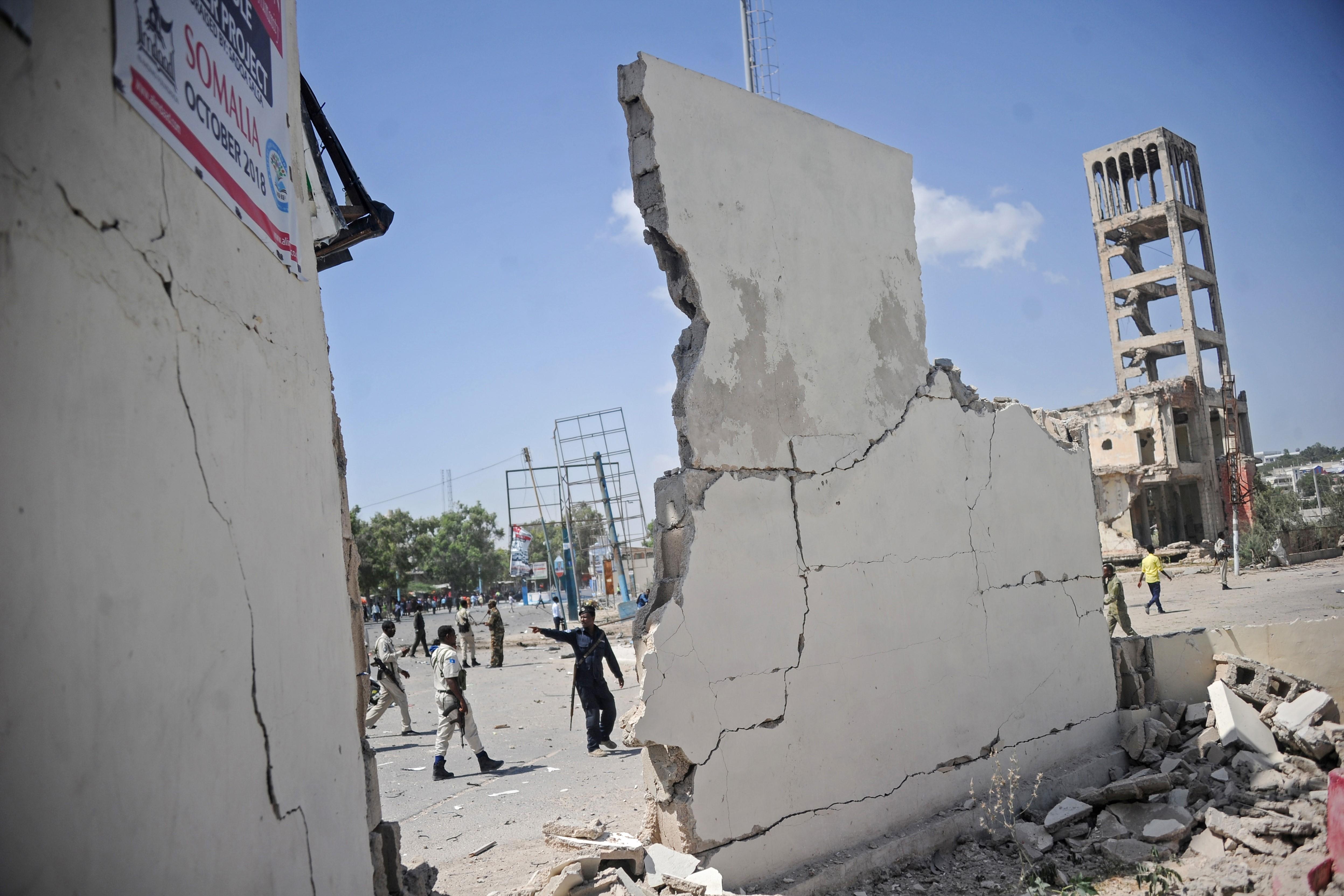 El Gobierno mantenía estos días a Mogadiscio en estado de emergencia debido al reciente intento de someter a moción de censura al presidente Abduhalli (Foto:Mohamed ABDIWAHAB / AFP)