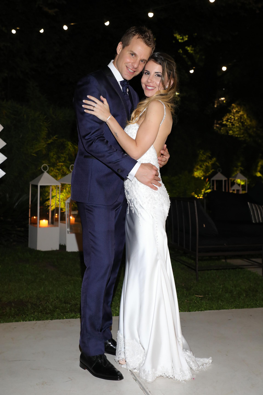"""Diego """"Ruso"""" Rodríguez y Daniela Katz tuvieron su fiesta de casamiento (Christian Bochichio)"""