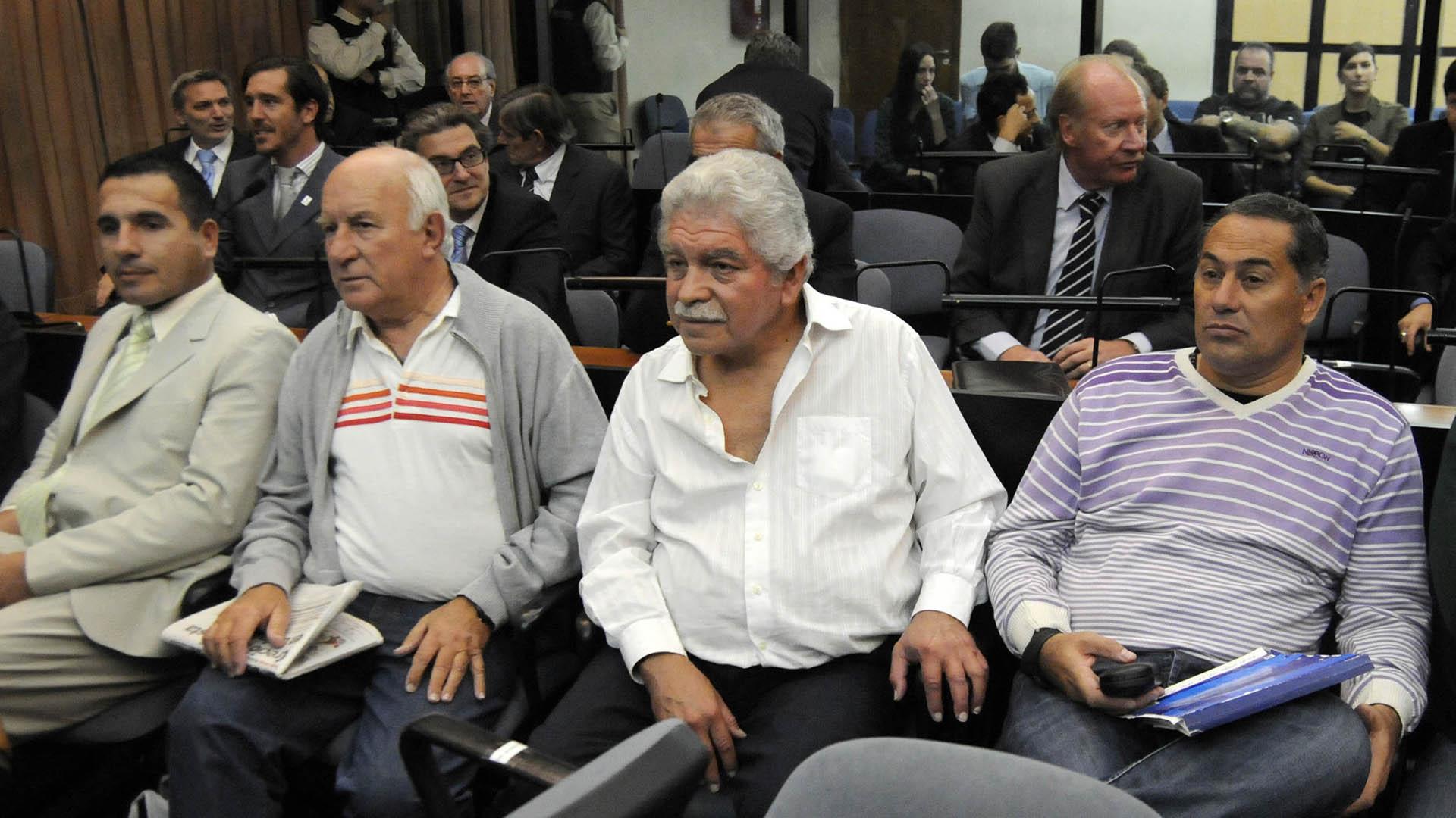 El sindicalista ferroviario durante el juicio por el crimen de Mariano Ferreyra (NA)
