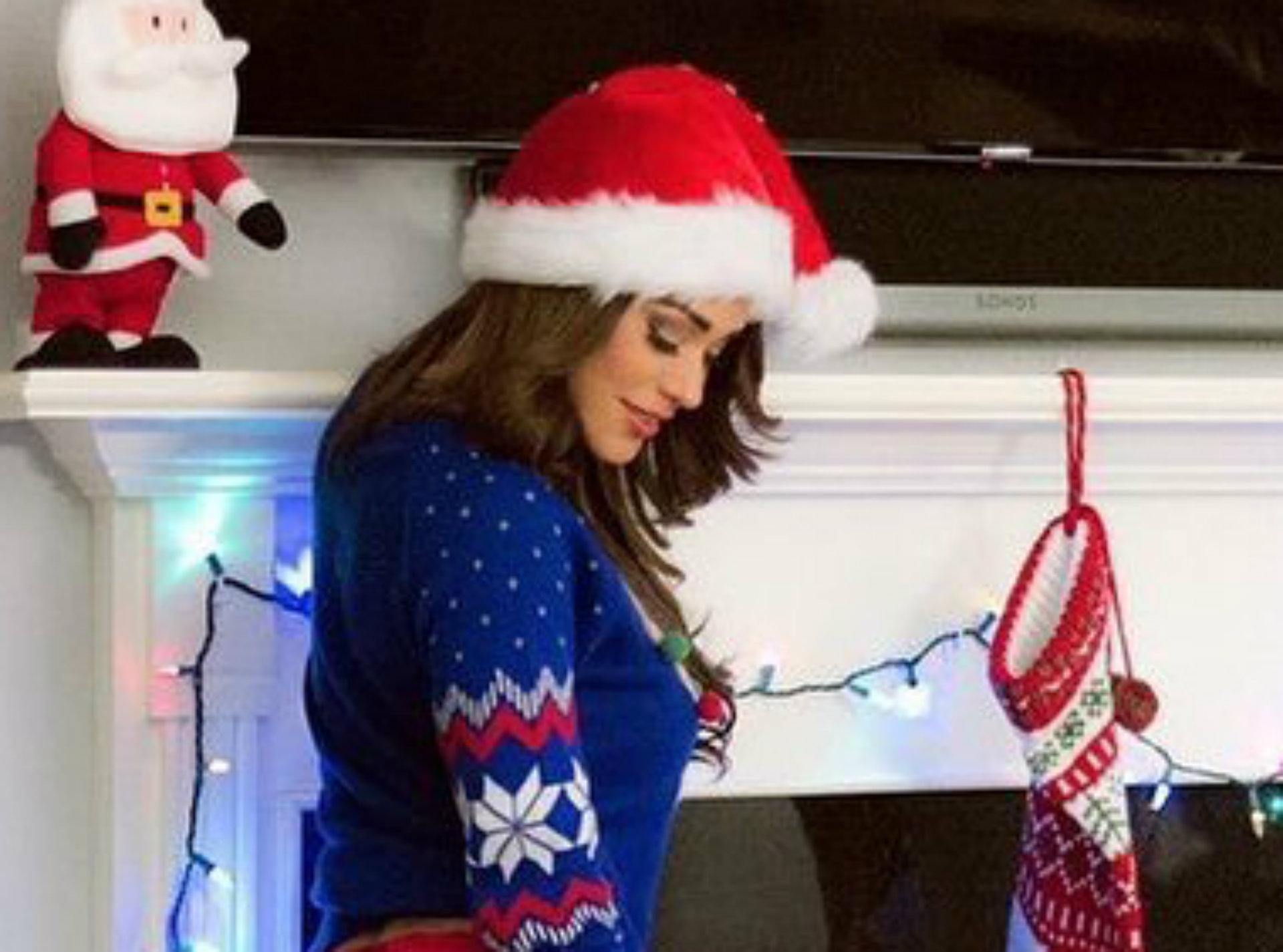 Yanet está lista para la llegada de Navidad (Foto: Instagram/iamyanetgarcia)