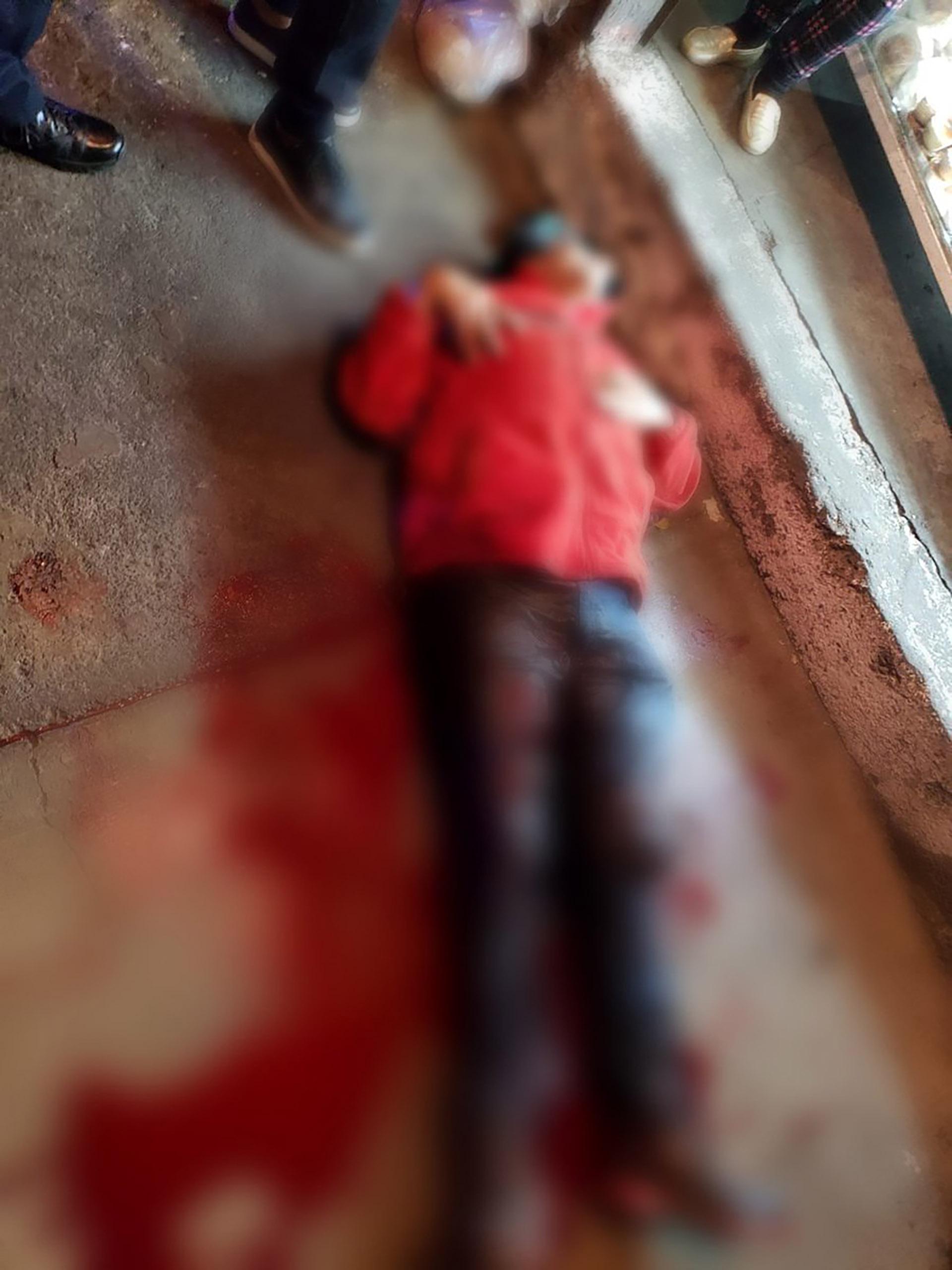 Una de las víctimas de la alcaldía de Iztacalco. (Foto: Especial)