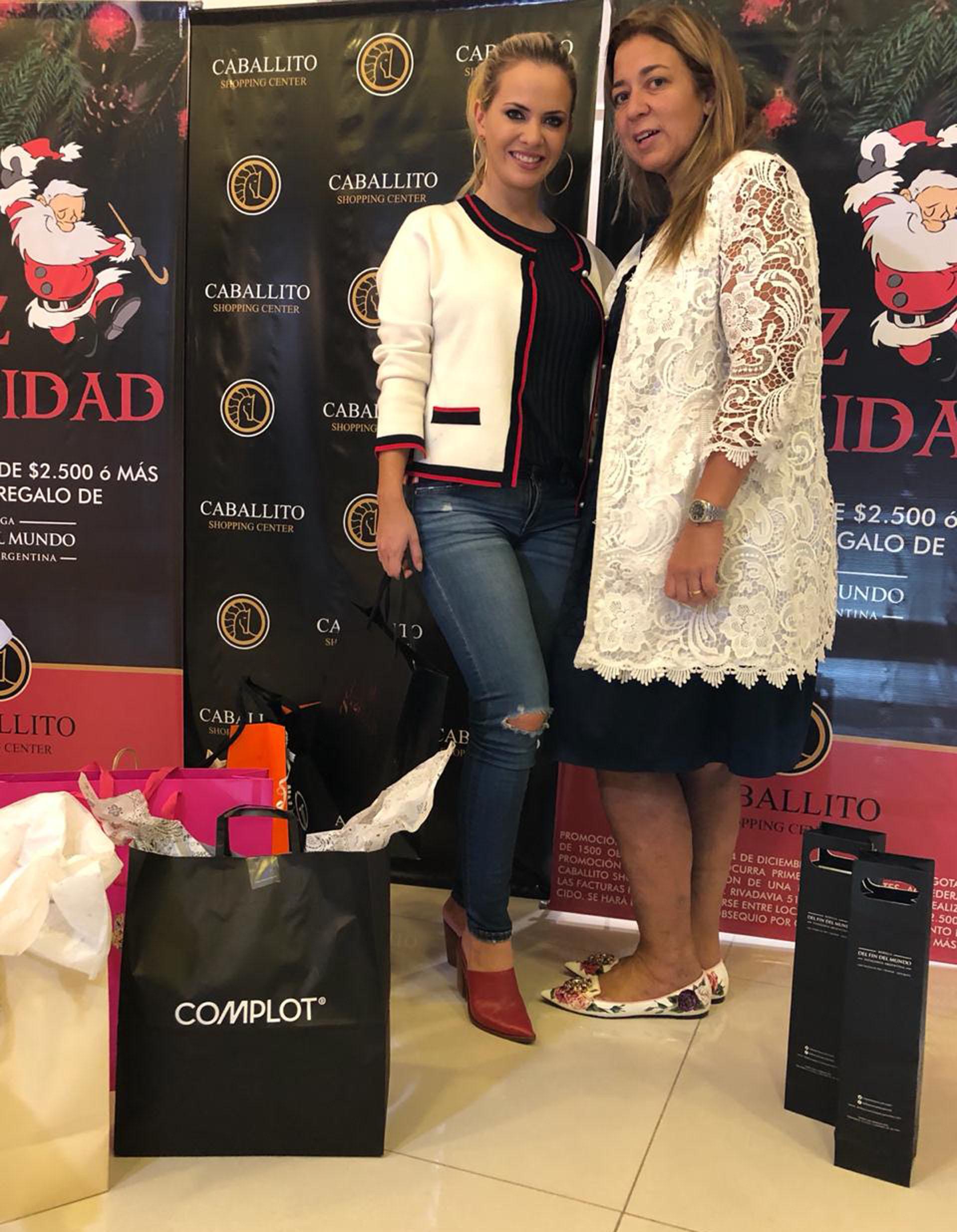 María Laura Gregoriadis y Alejandra Maglietti