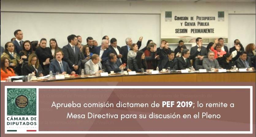 El Presupuesto de egresos 2019 le dará al gobierno de Andrés Manuel López Obrador 5 billones 838.000 millones de pesos