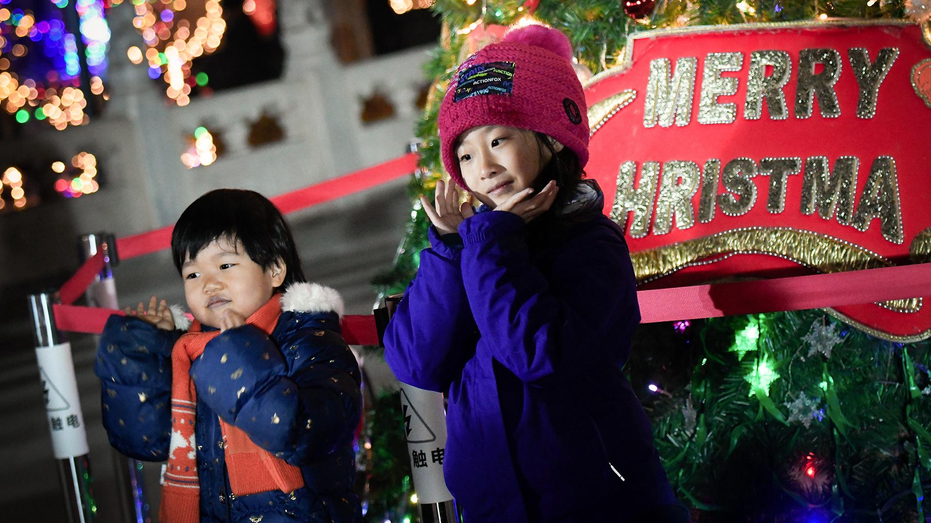 Las fotos de la Navidad por el mundo