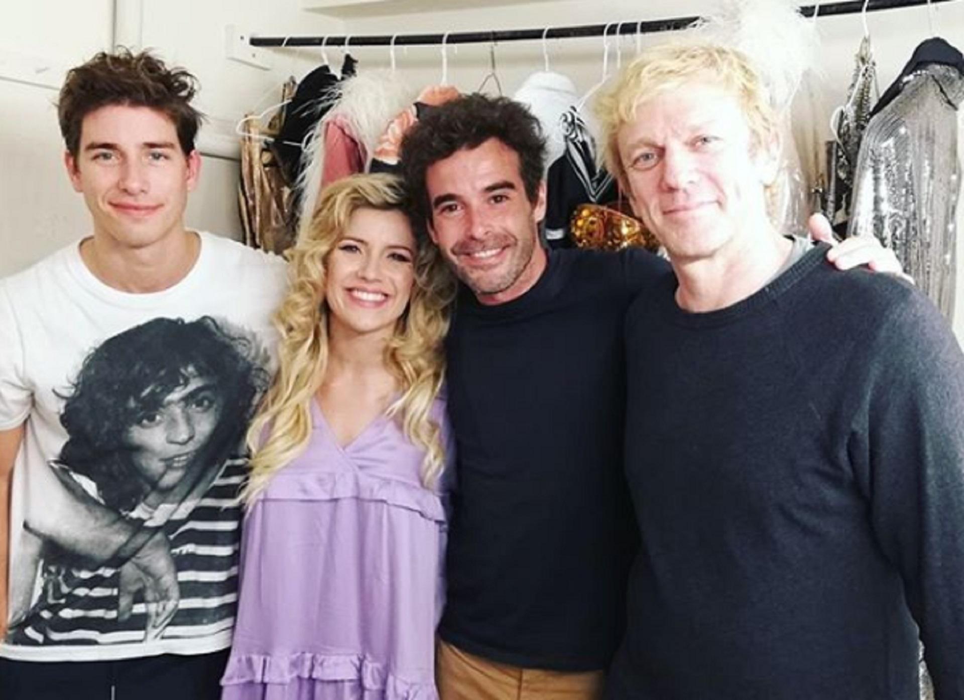 Nicolás Cabré asistió a la segunda función de Sugar el fin de semana en Mar del Plata y vio el debut de Victorio D'Alessandro en su reemplazo, a su novia Laurita Fernández y a Federico D'Elía