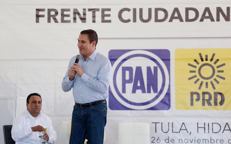 Tras su salida del PRI, decidió militar en el Partido de Acción Nacional (PAN) (Foto: Twitter Rafael Moreno Valle)