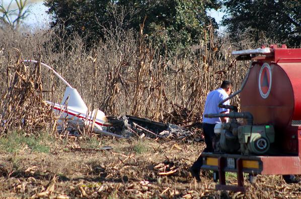 El accidente ocurrió a las 14:40 horas, 10 minutos después de despegar (Foto: Cuartoscuro)