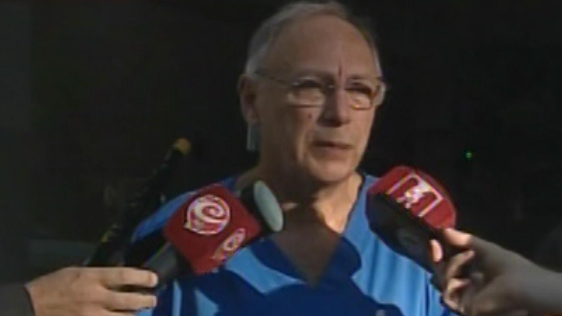 El jefe de guardia del Hospital del Quemado, Eduardo Burszteyn