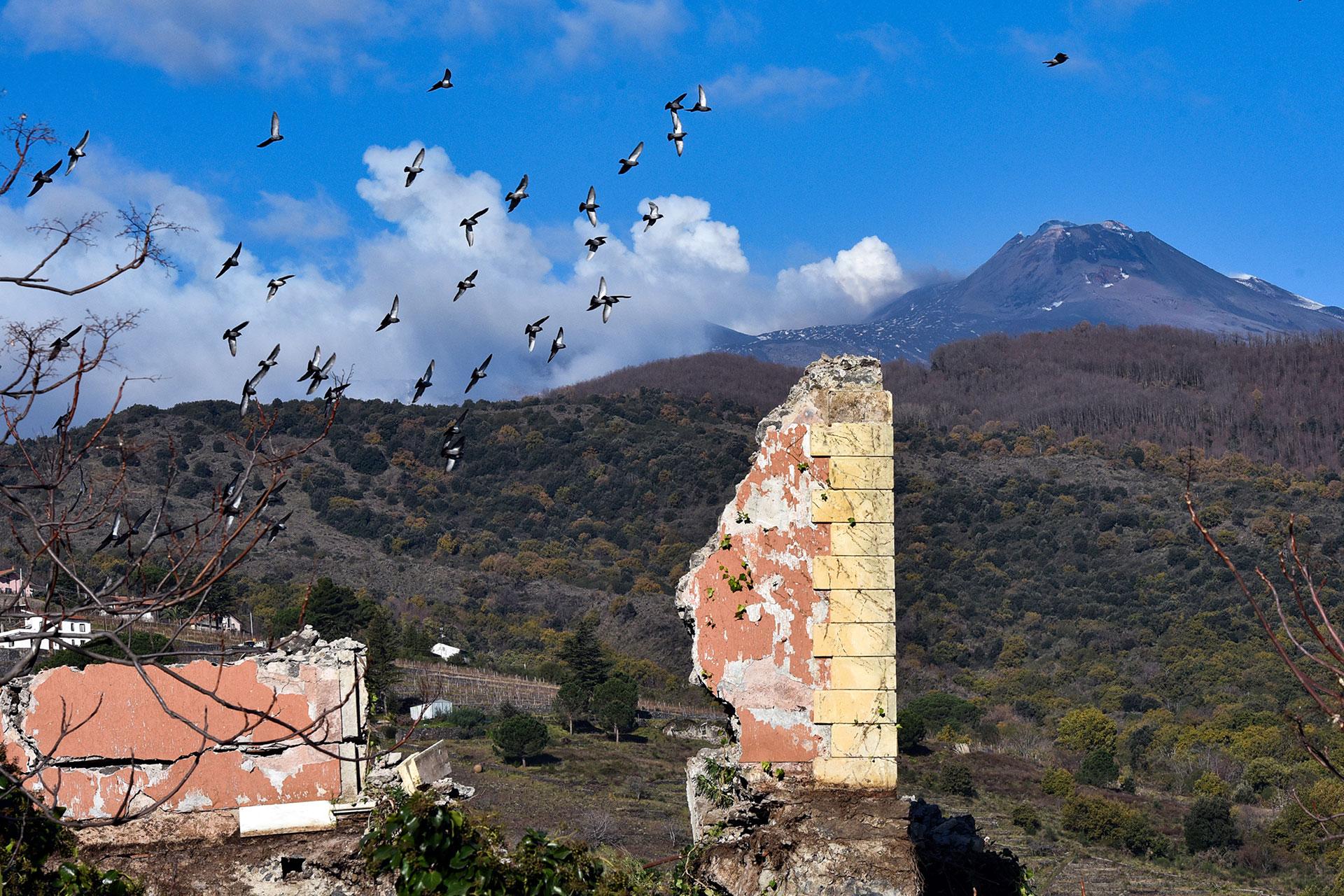 El volcán Etna es el más activo de Europa (AFP)