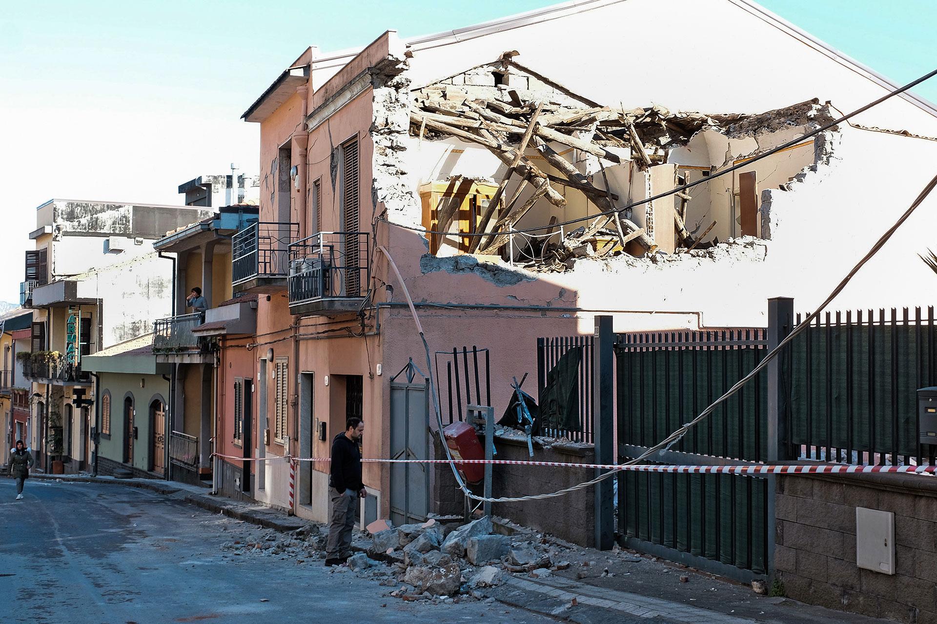 Este fue el sismo más fuerte desde la erupción (AFP)