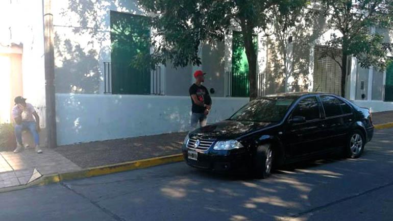 El hermano de Cristian Pavón tuvo un conflicto en un control vehícular