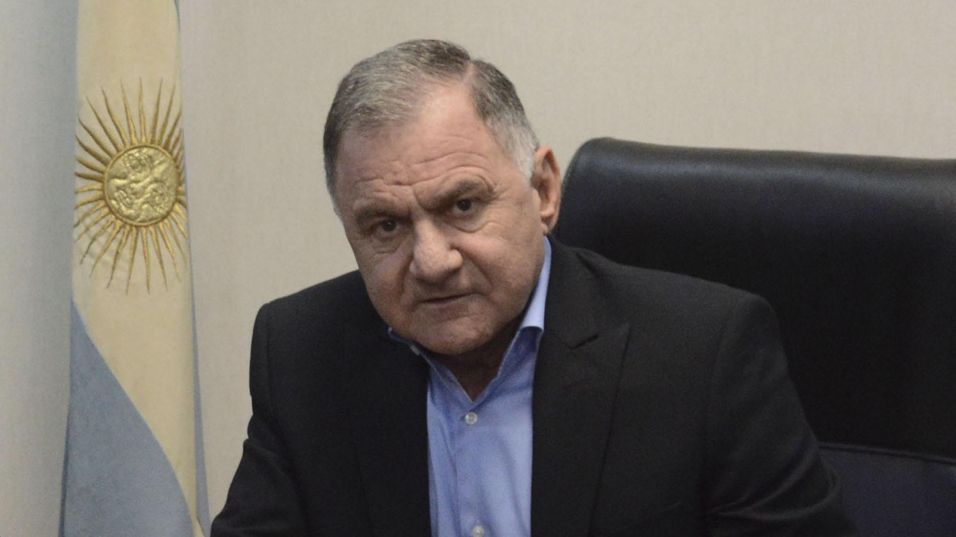 Julio Pereyra, intendente de Florencio Varela de licencia, hoy diputado provincial (NA)