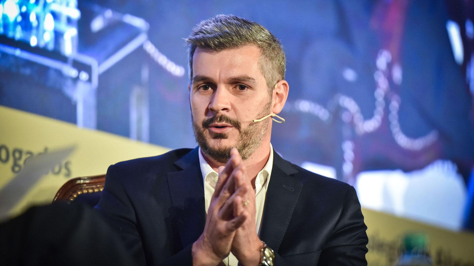 Marcos Peña quedó a cargo de la gestión (Guille Llamos)