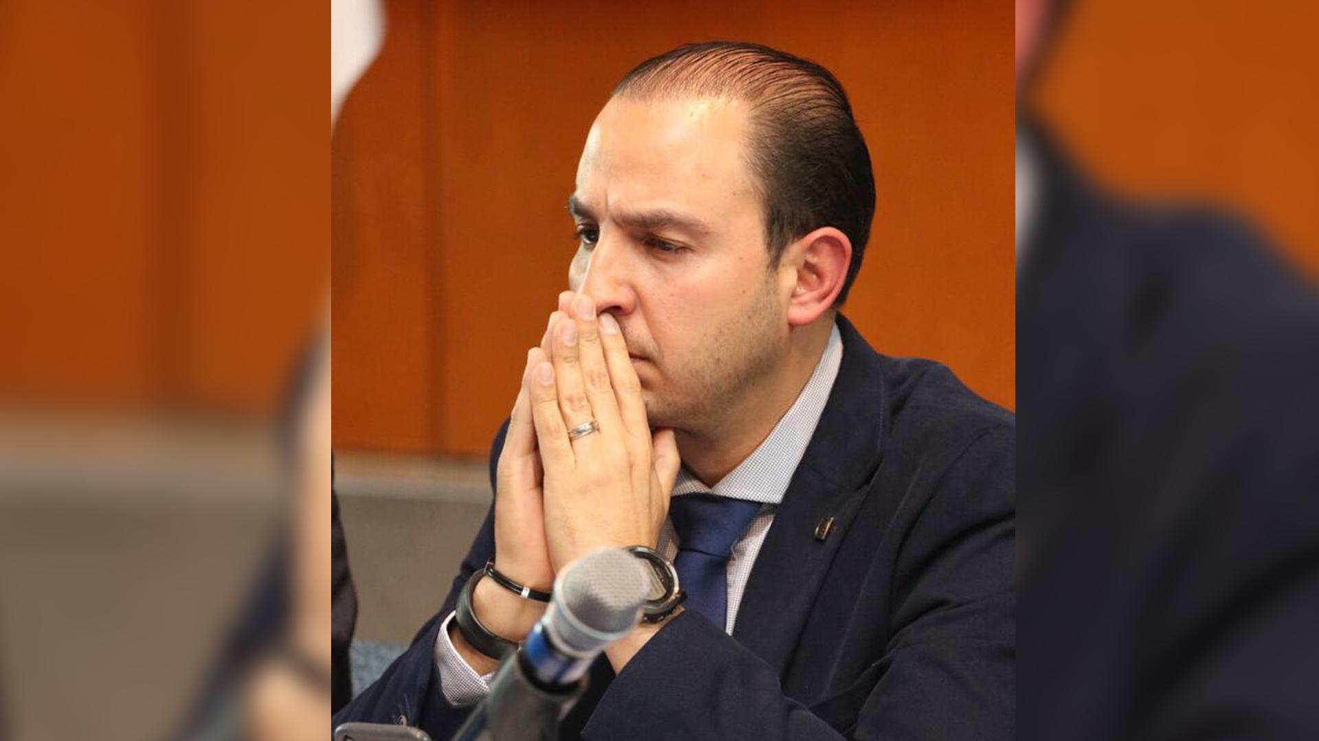 Marko Cortés reitero su demanda de una investigación científica (Foto: Cortesía)