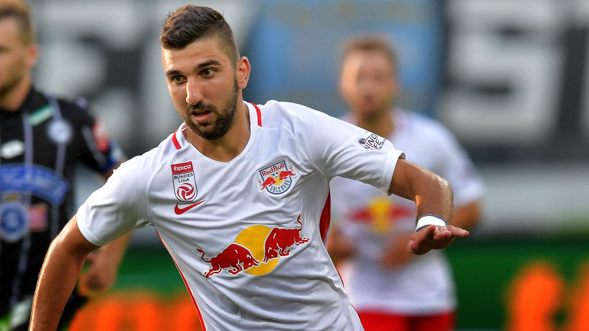 Moanes Dabour es el actual goleador del Red Bull de Salzburgo, en la liga austríaca (AP)