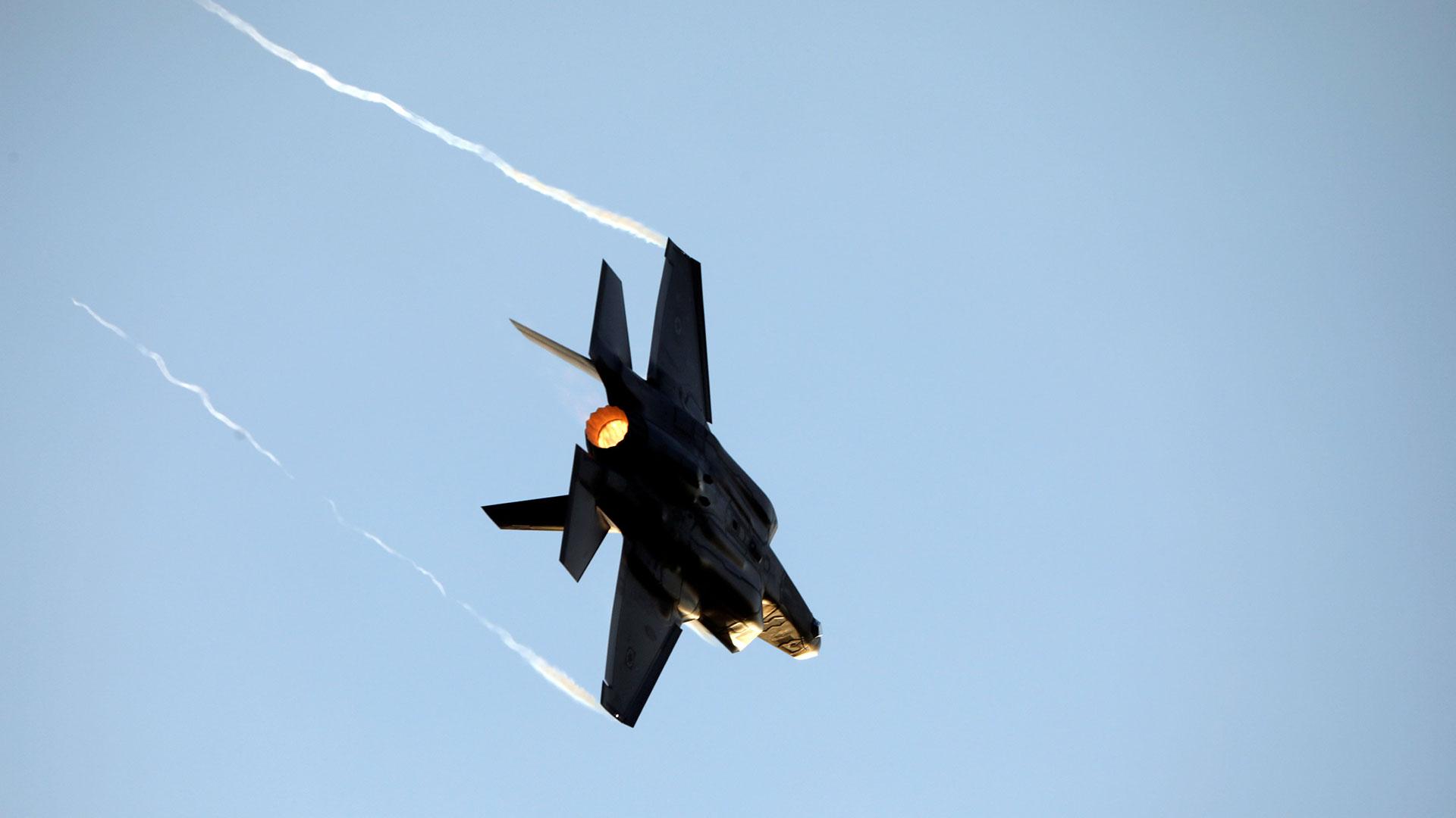 El F-35 es un cazabombardero furtivo de última generación (Reuters)