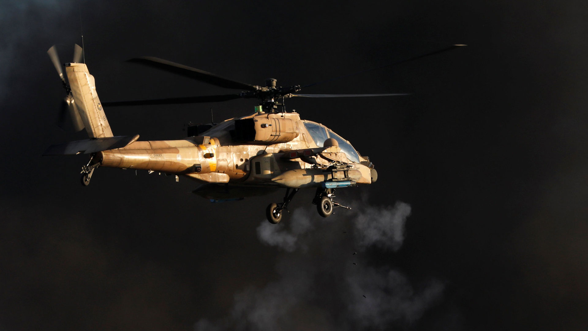 Un helicóptero de ataque Boeing A6H-64 Apache (Reuters)