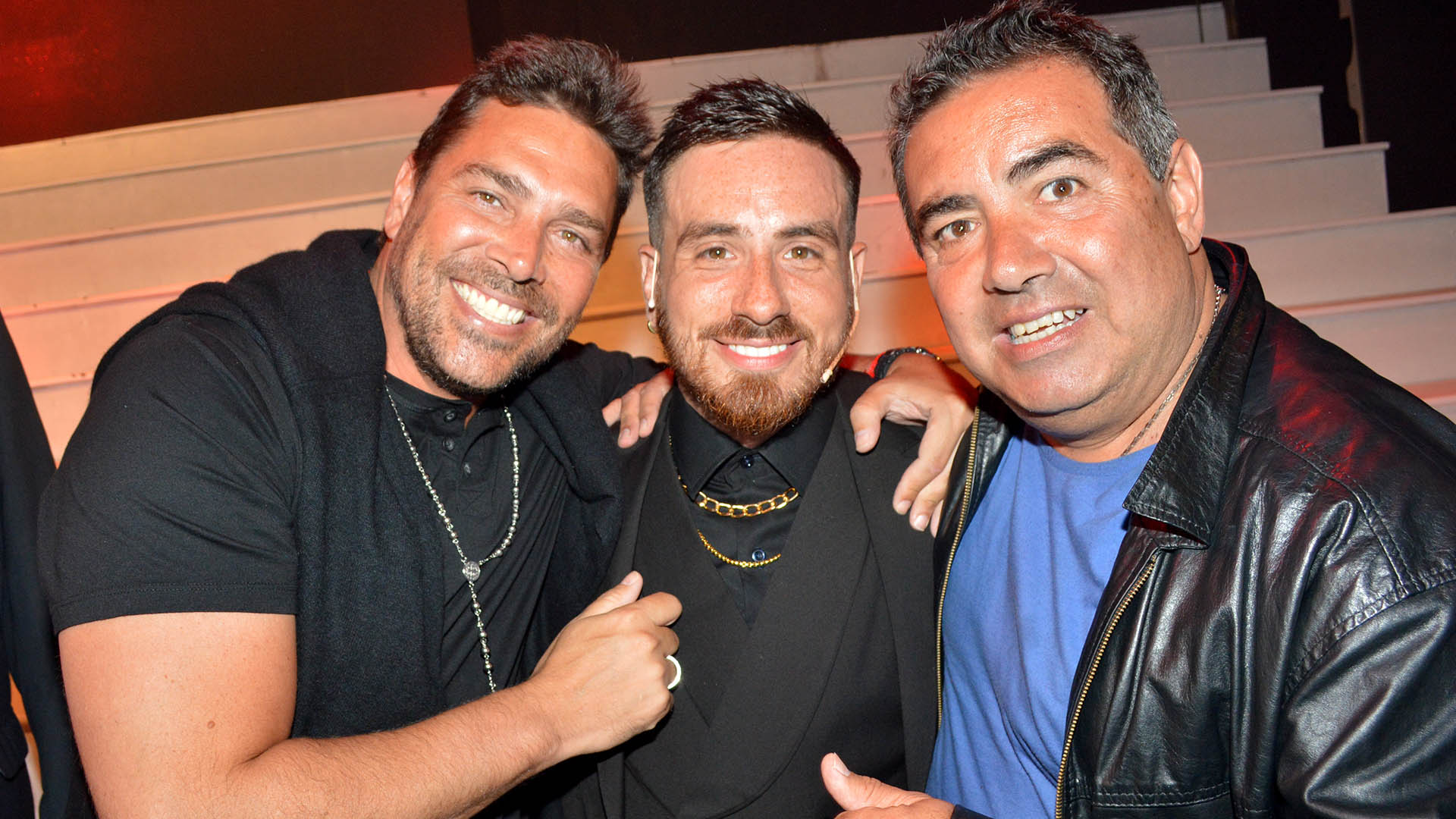 Matías Alé, Fede Bal y Diego Pérez