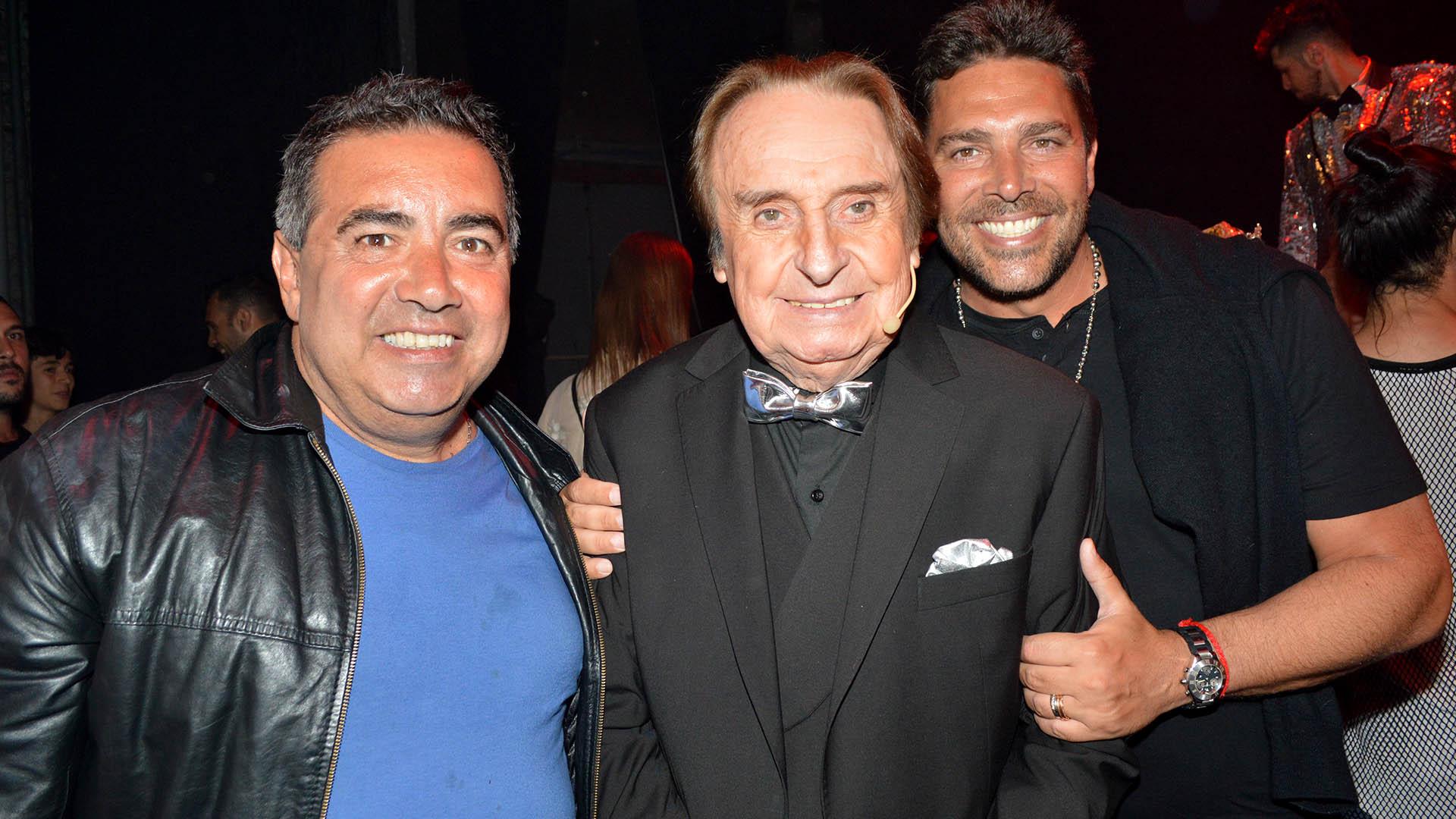 Diego Pérez, Santiago Bal y Matías Alé (Eduardo Aguada / Teleshow)